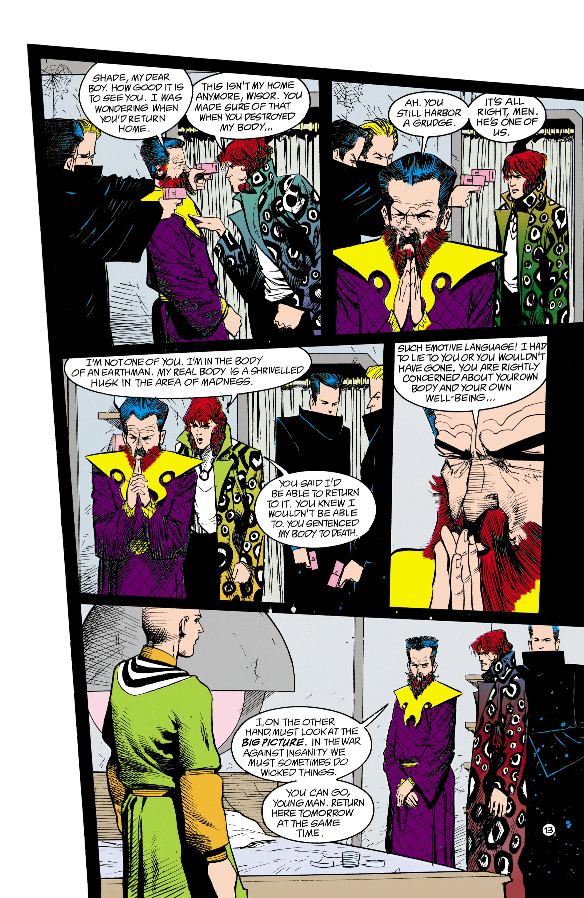 Read online Shade, the Changing Man comic -  Issue #18 - 13