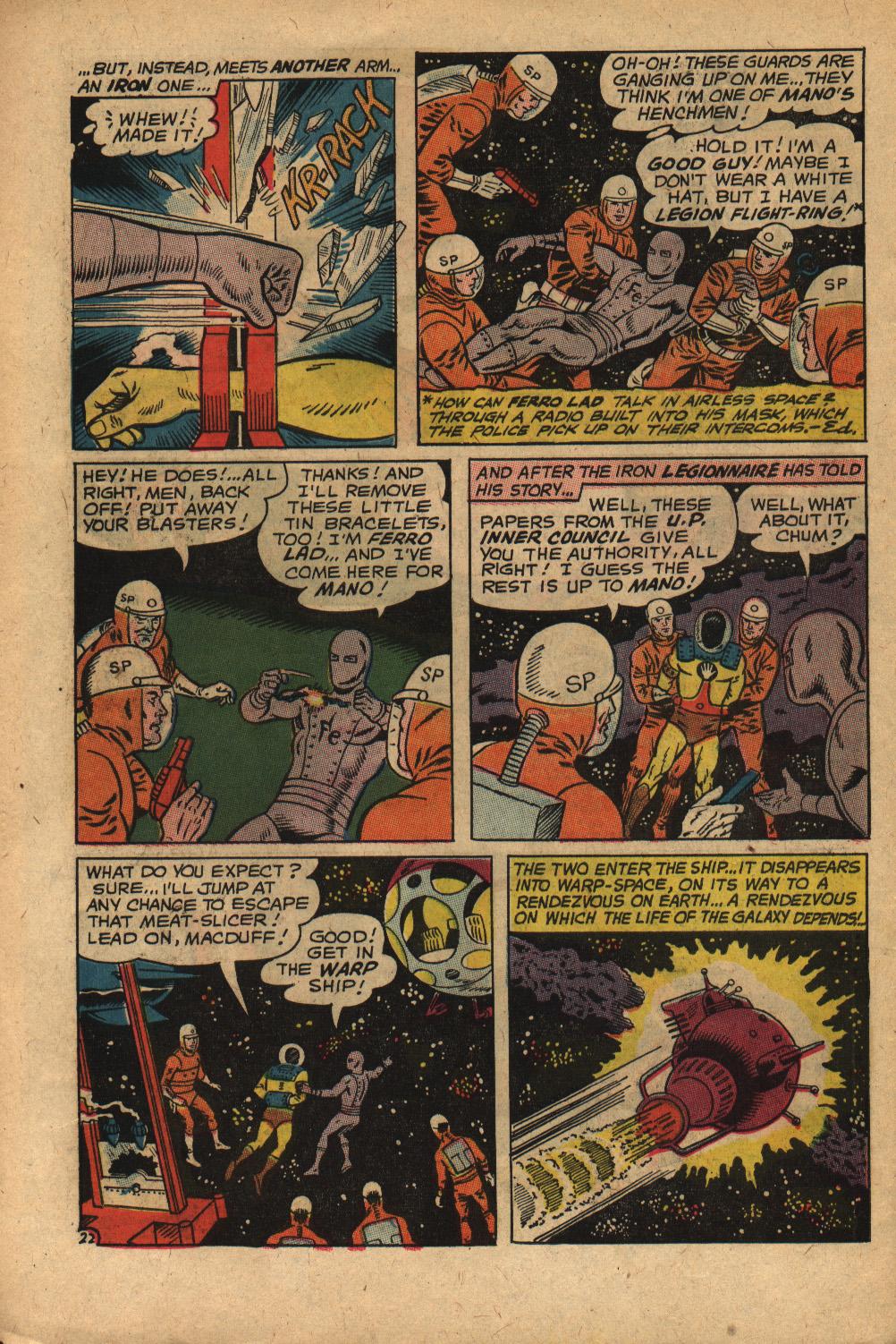 Read online Adventure Comics (1938) comic -  Issue #352 - 30
