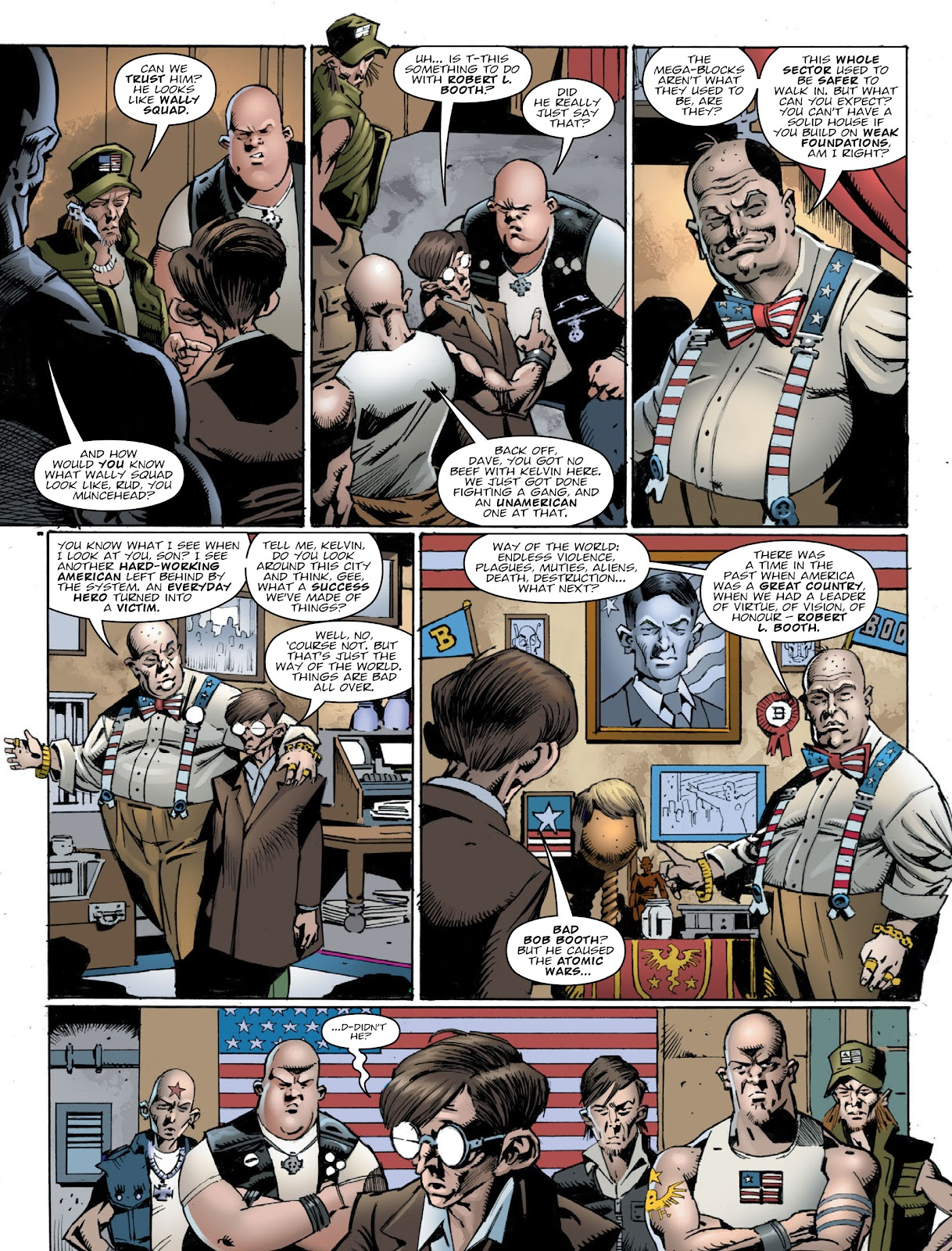 Read online 2000 AD comic -  Issue #2030 - 7