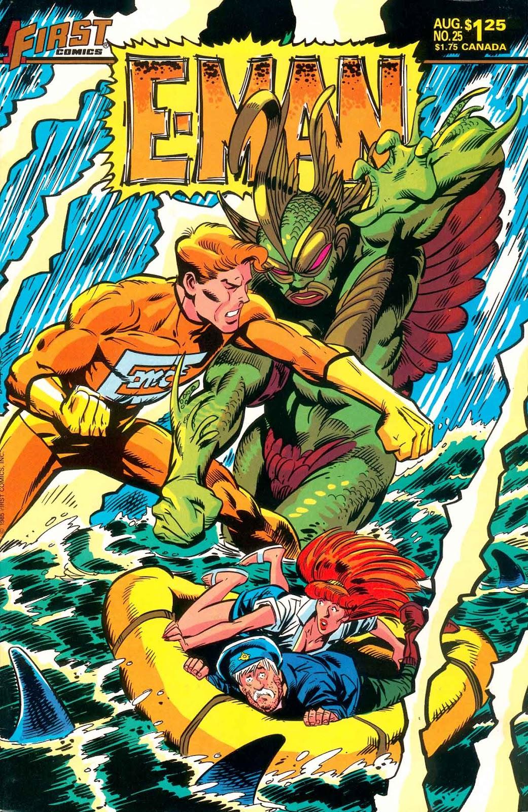 E-Man (1983) 25 Page 1