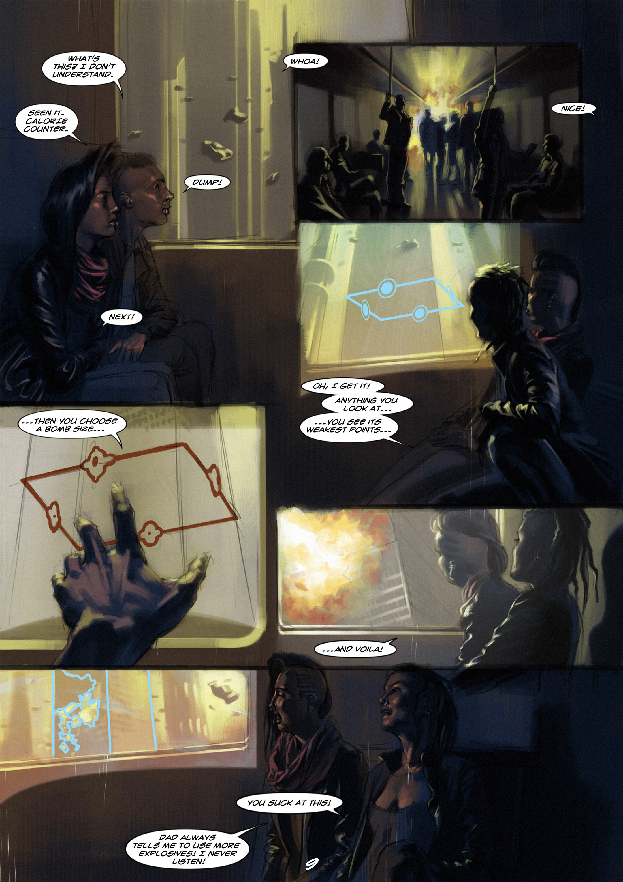 Read online Wynter comic -  Issue #1 - 10