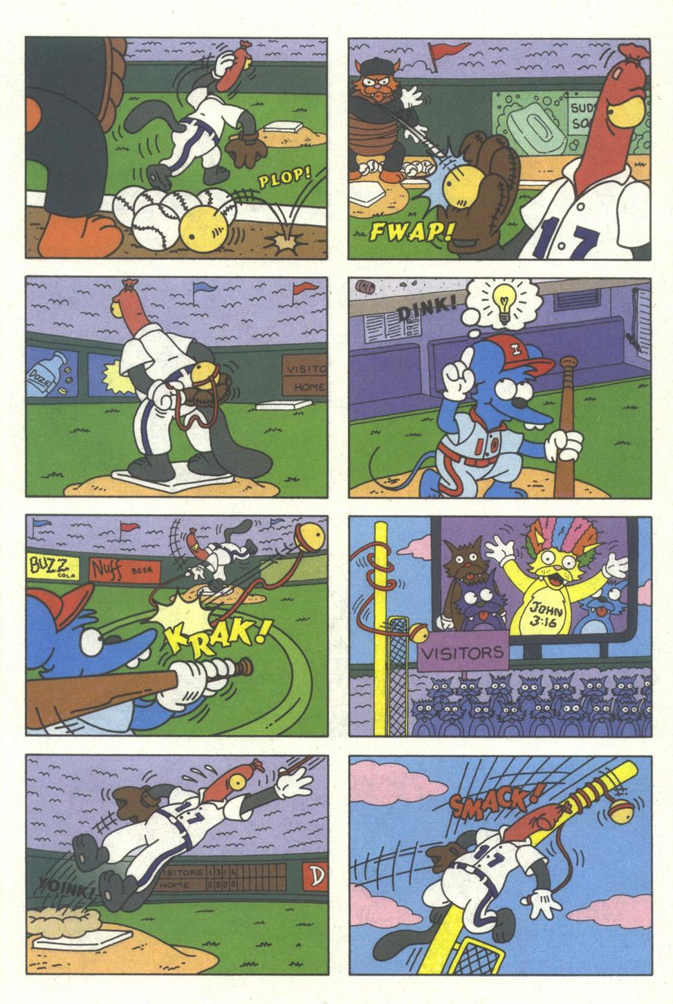 Read online Simpsons Comics comic -  Issue #25 - 29