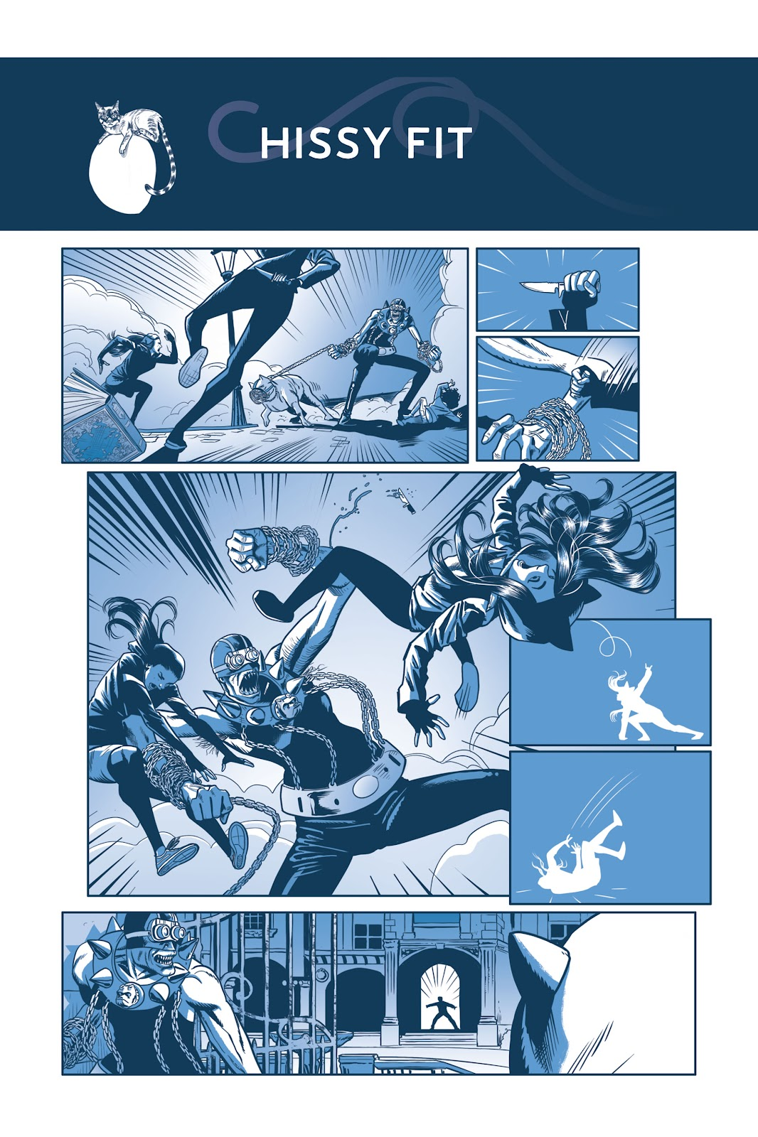 Read online Under the Moon: A Catwoman Tale comic -  Issue # TPB (Part 2) - 51