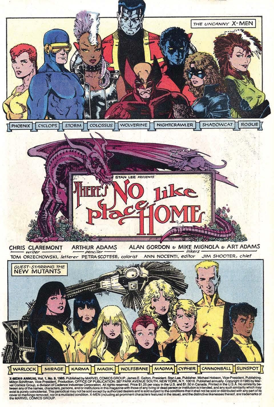Read online Uncanny X-Men (1963) comic -  Issue # _Annual 9 - 3