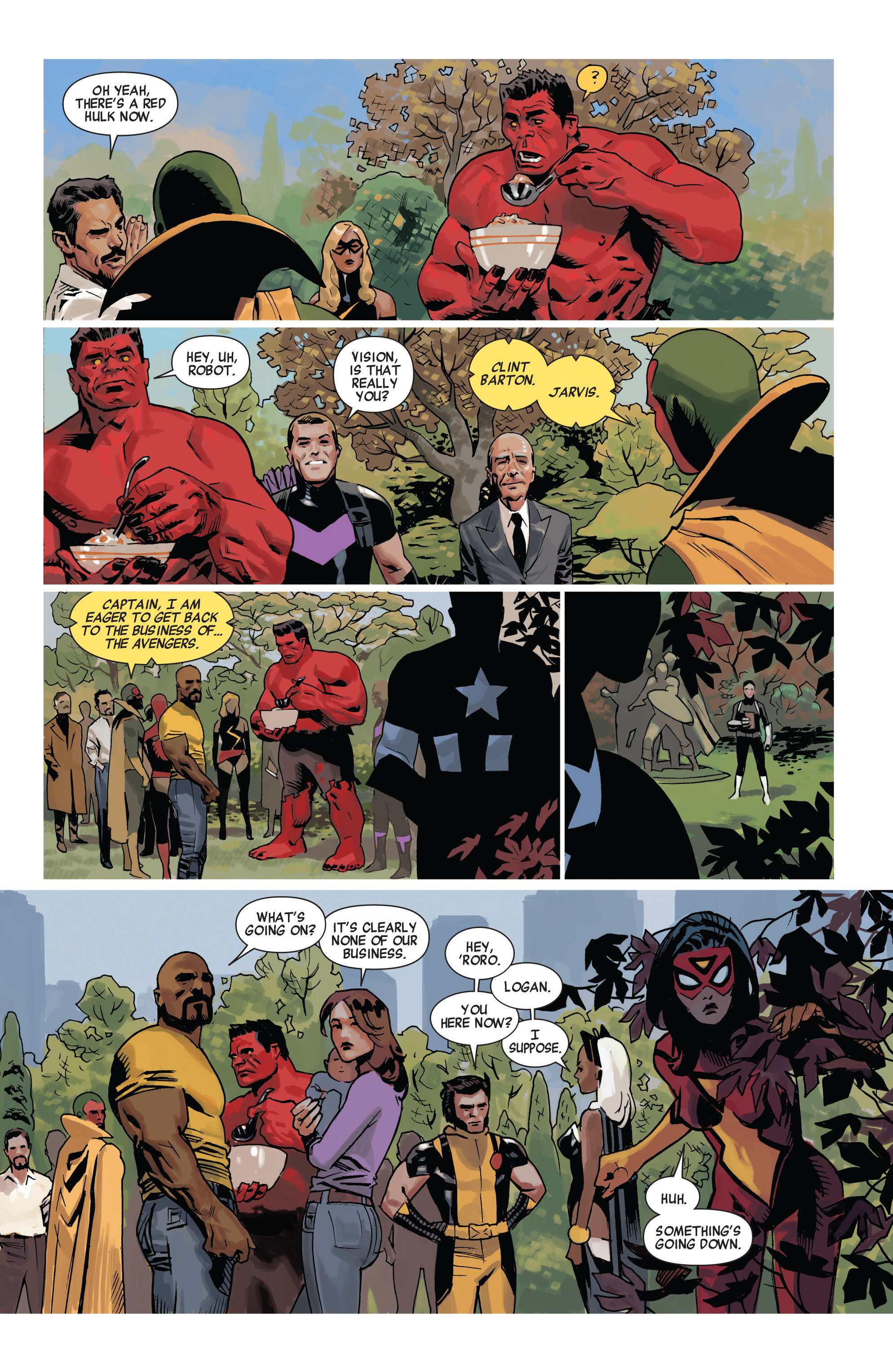 Read online Avengers (2010) comic -  Issue #19 - 17