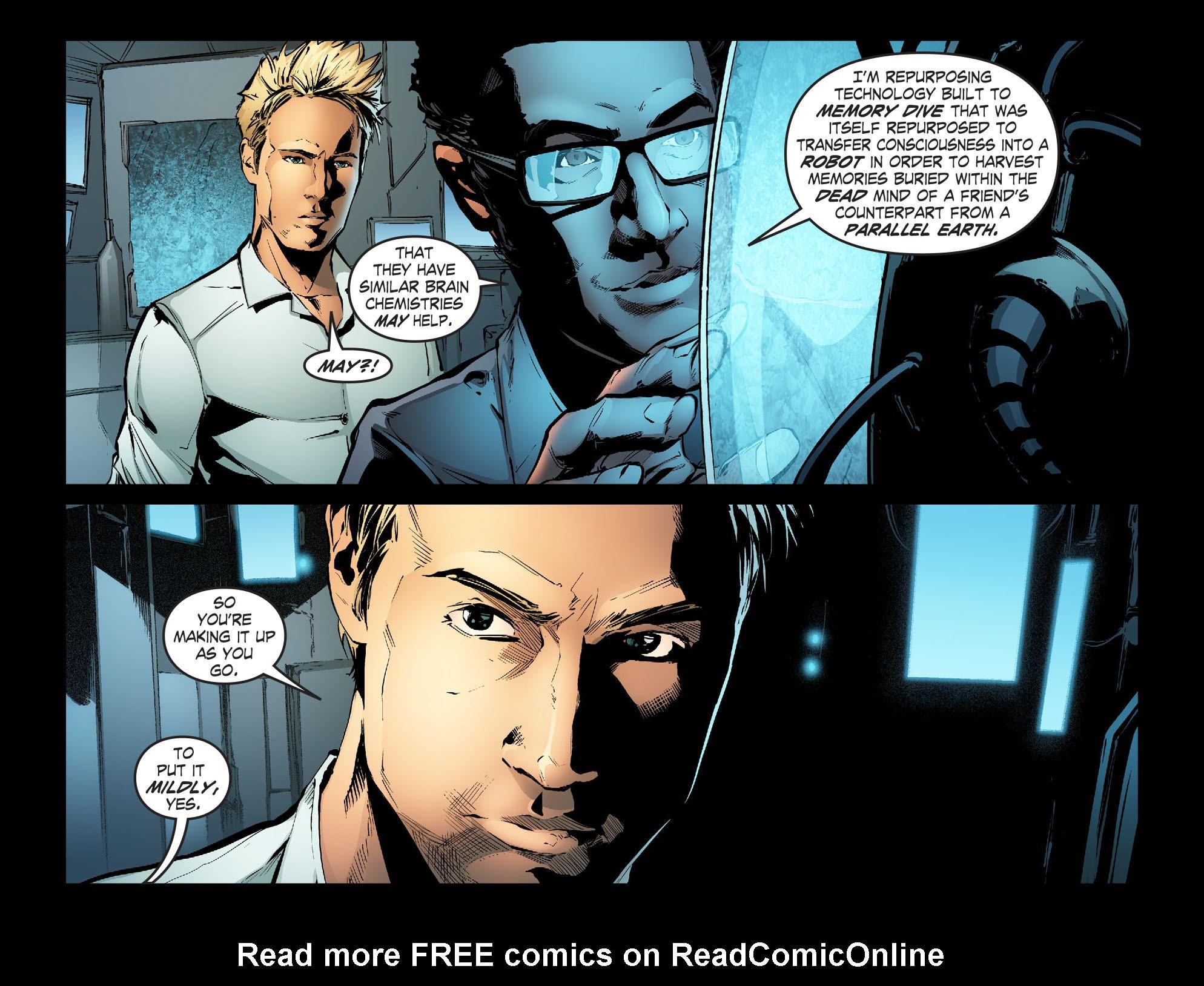 Read online Smallville: Season 11 comic -  Issue #31 - 12