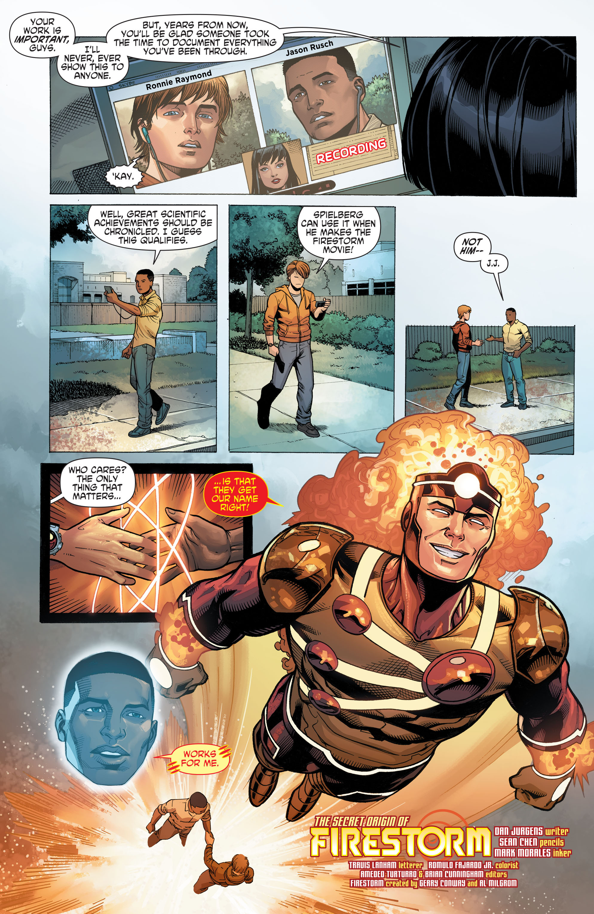 Read online Secret Origins (2014) comic -  Issue #10 - 25