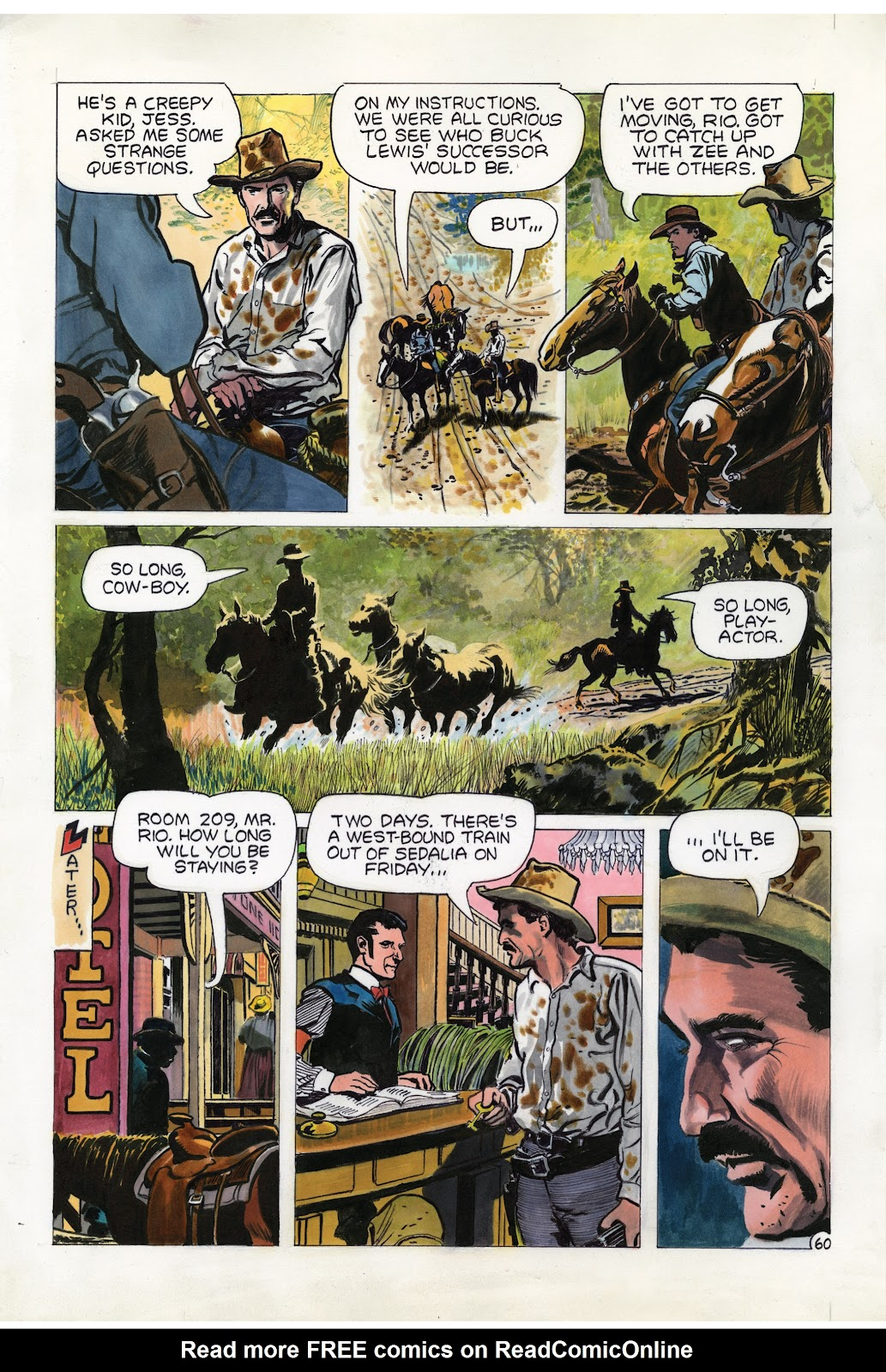 Read online Doug Wildey's Rio: The Complete Saga comic -  Issue # TPB (Part 2) - 25
