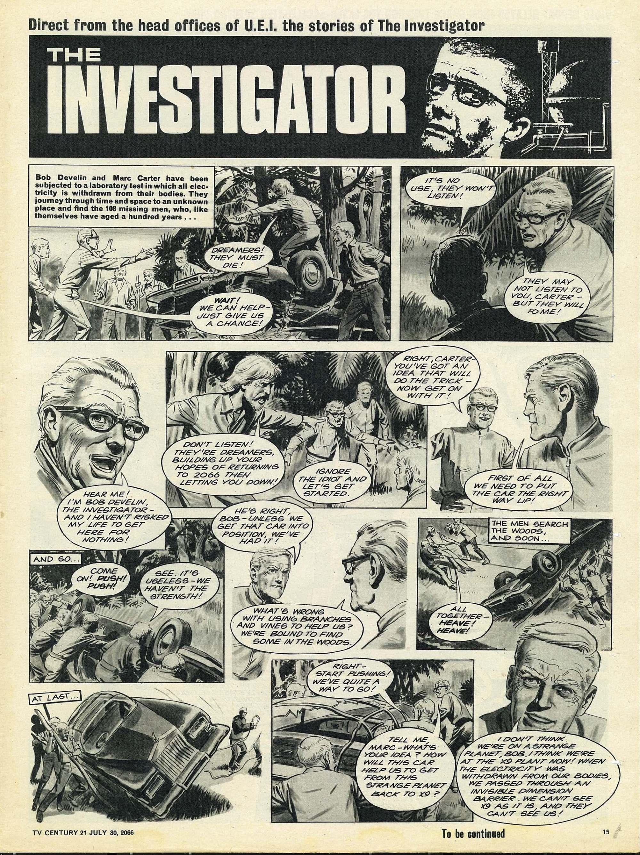 Read online TV Century 21 (TV 21) comic -  Issue #80 - 14
