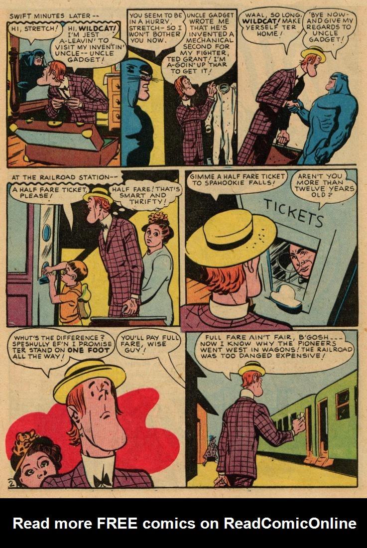 Read online Sensation (Mystery) Comics comic -  Issue #36 - 42
