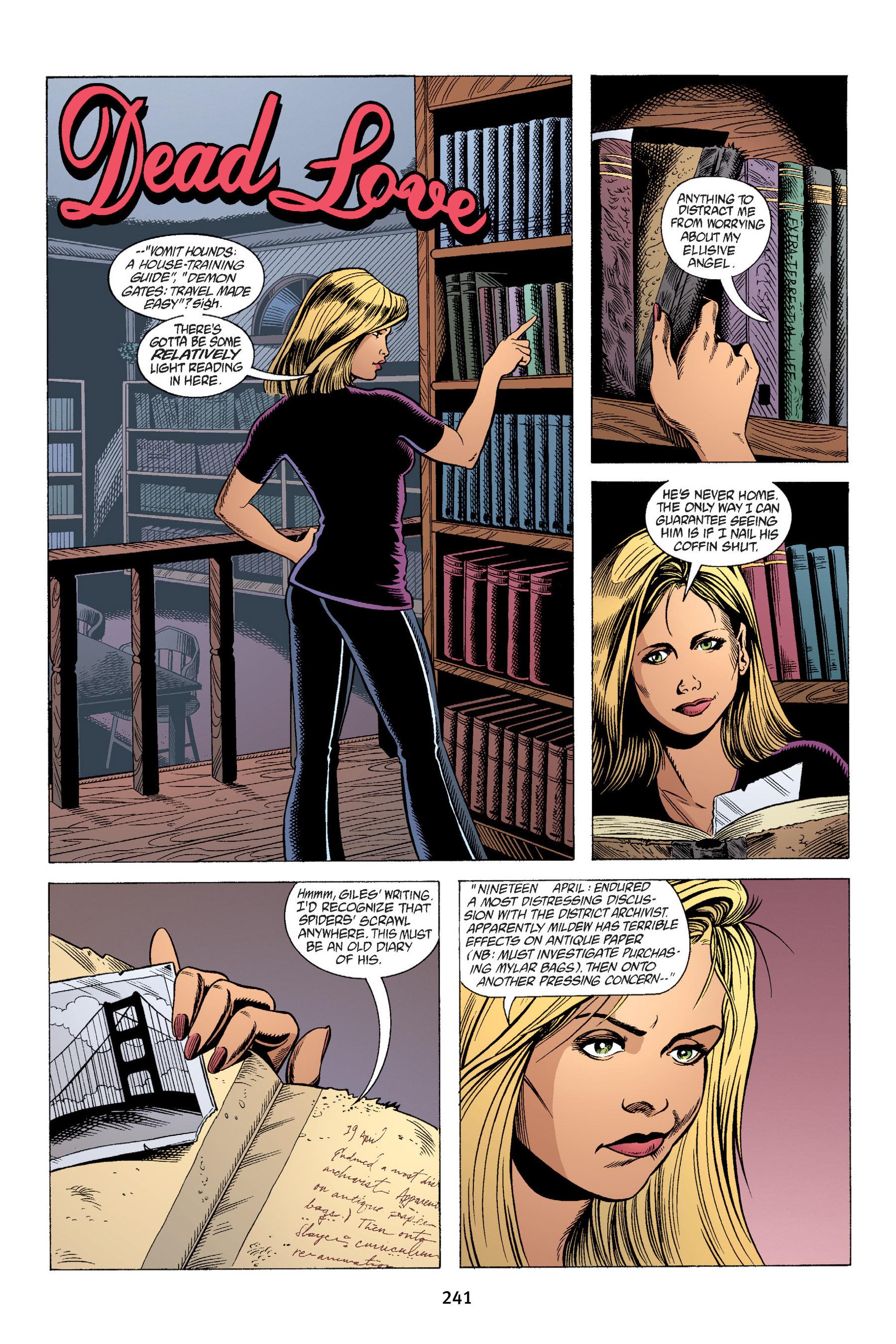 Read online Buffy the Vampire Slayer: Omnibus comic -  Issue # TPB 4 - 239