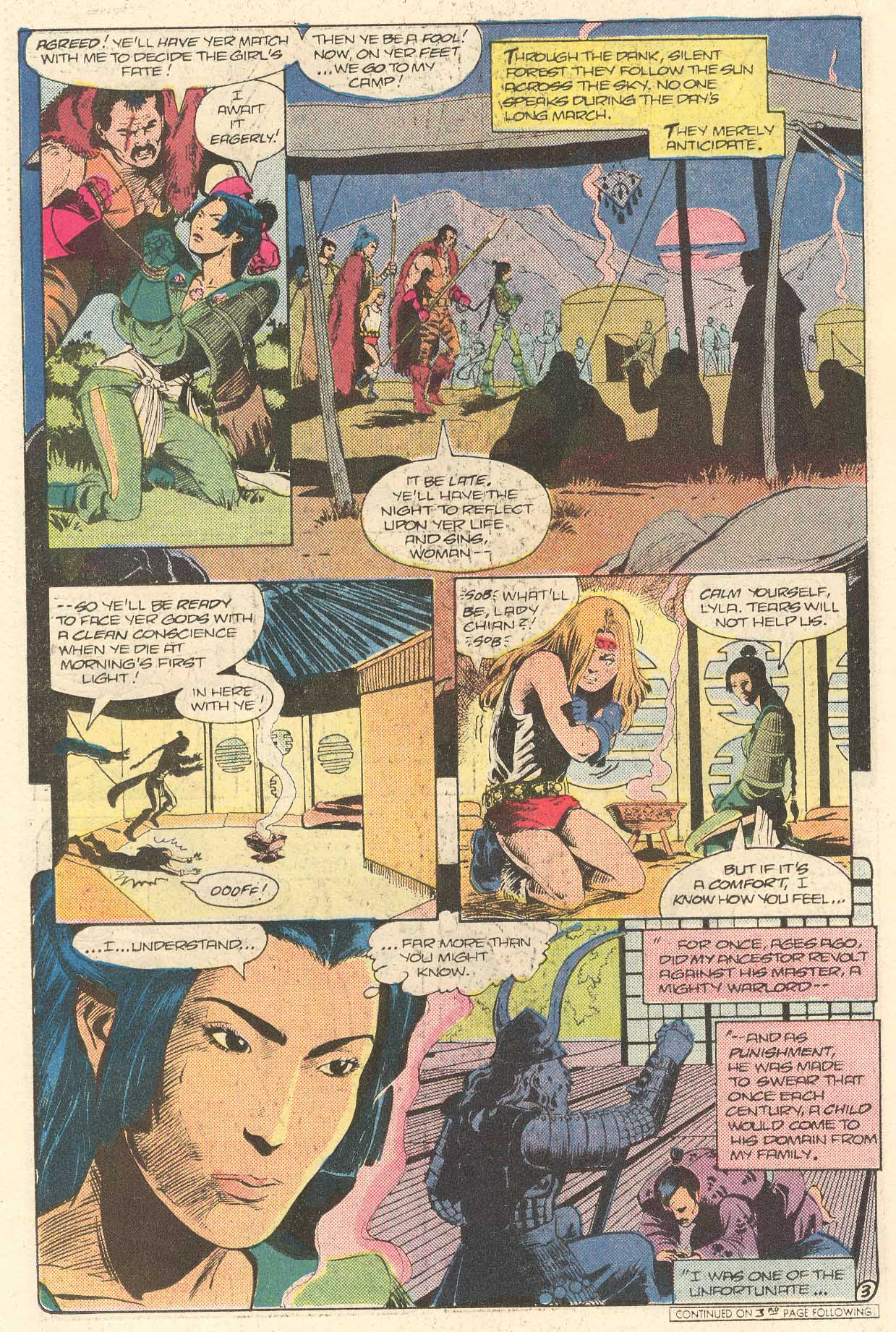 Read online Arion, Lord of Atlantis comic -  Issue #28 - 18