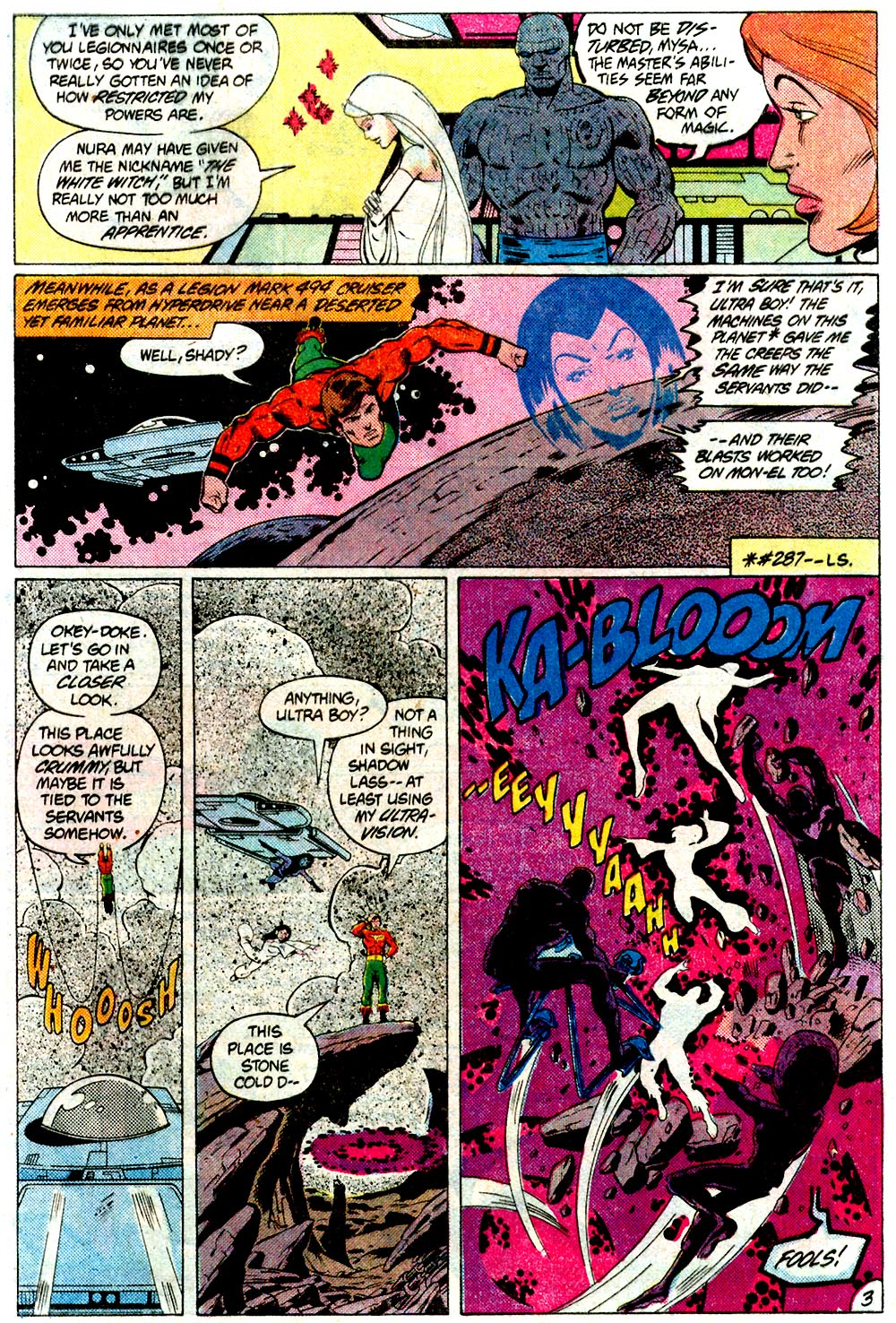 Legion of Super-Heroes (1980) 293 Page 3
