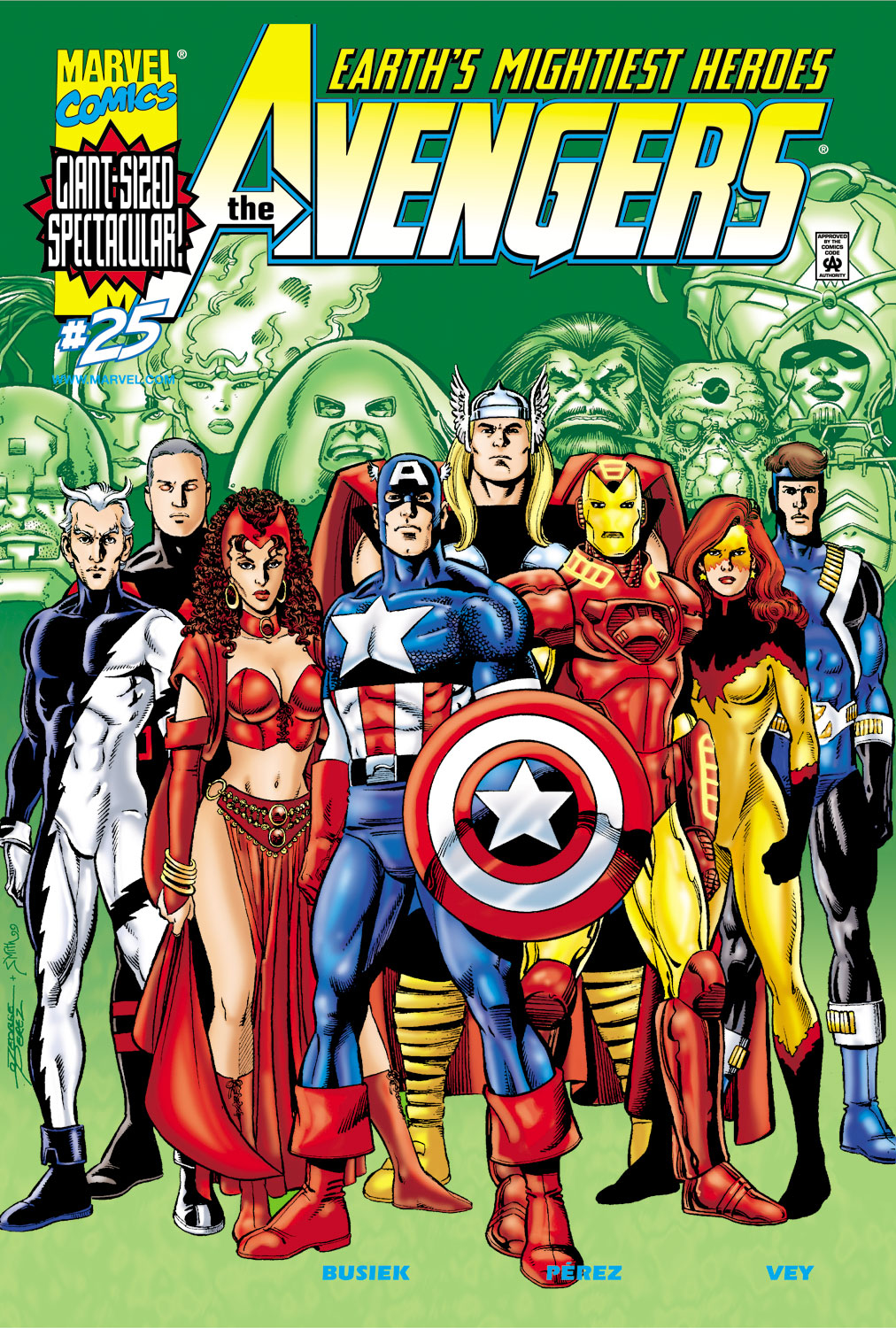 Read online Avengers (1998) comic -  Issue #25 - 1