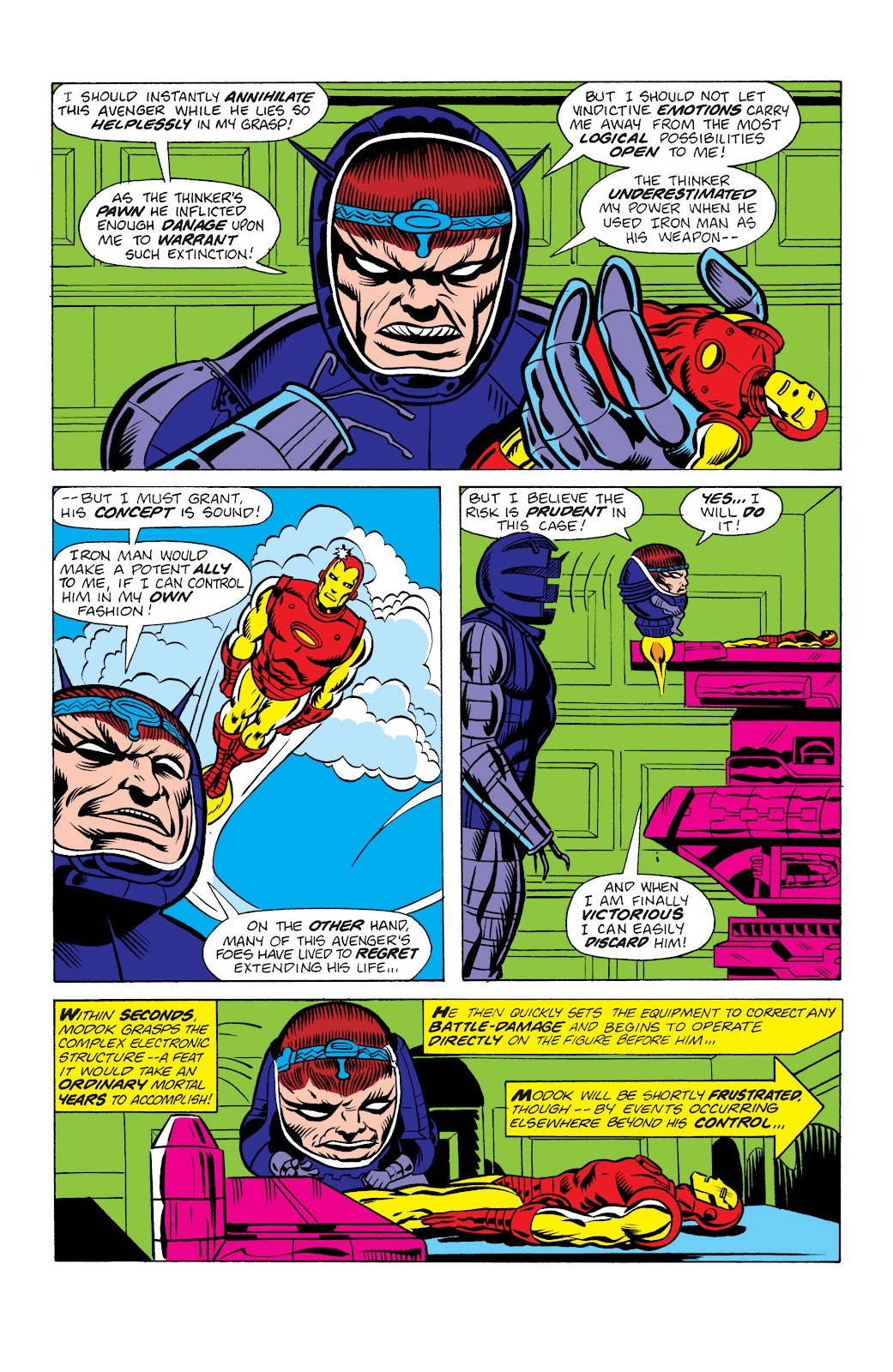 Read online Marvel Masterworks: The Invincible Iron Man comic -  Issue # TPB 10 (Part 2) - 43
