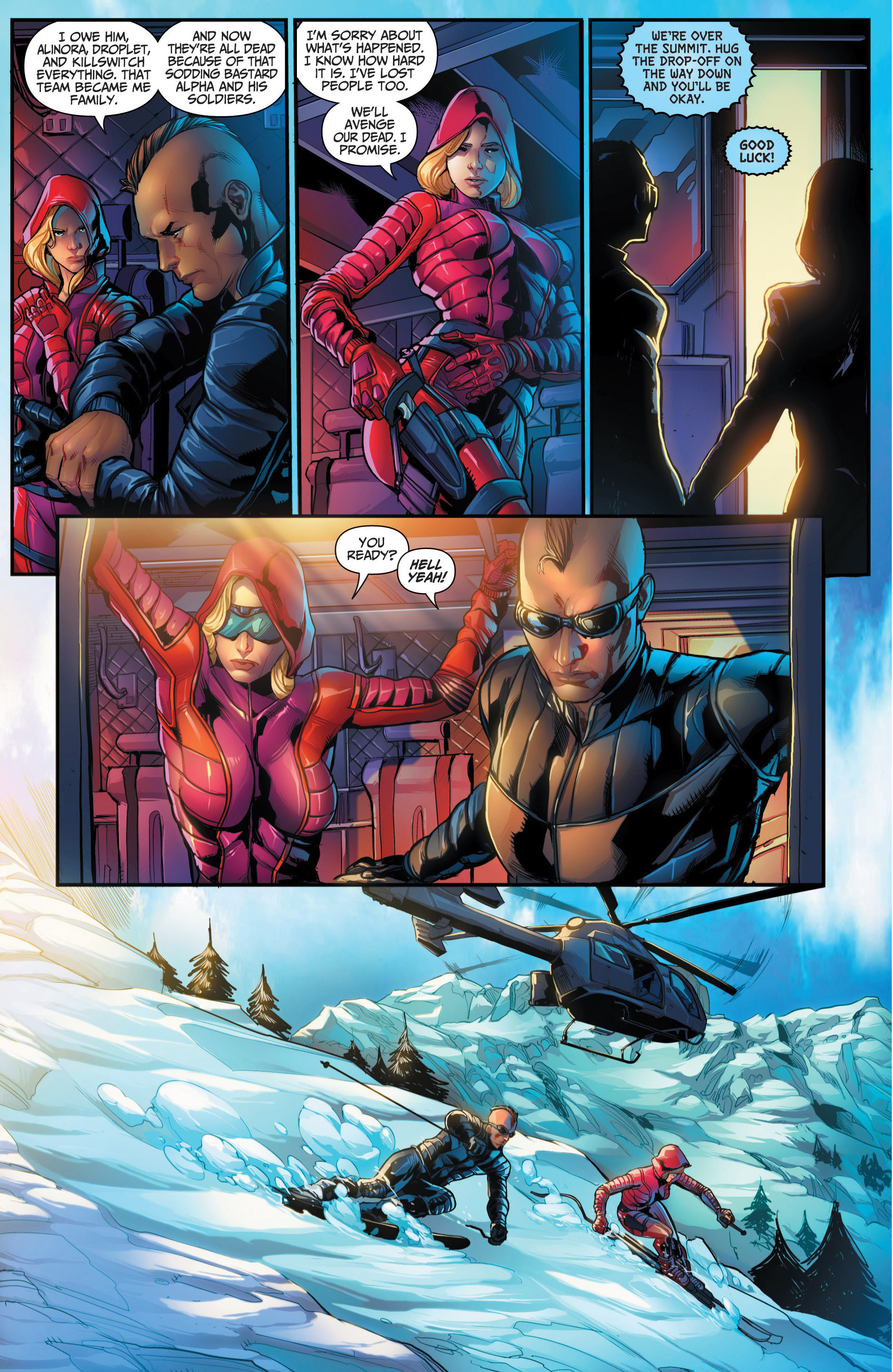 Read online Grimm Fairy Tales presents Red Agent: The Human Order comic -  Issue #6 - 14