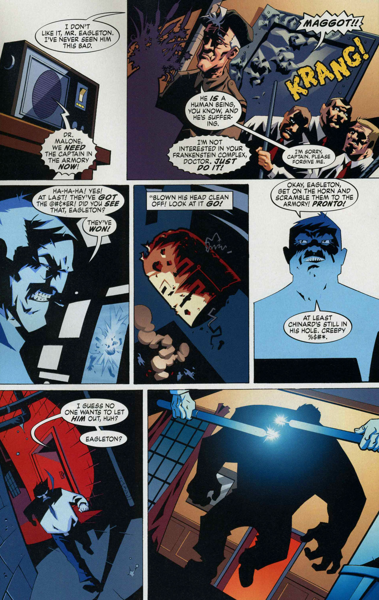 Read online Albion comic -  Issue #6 - 13