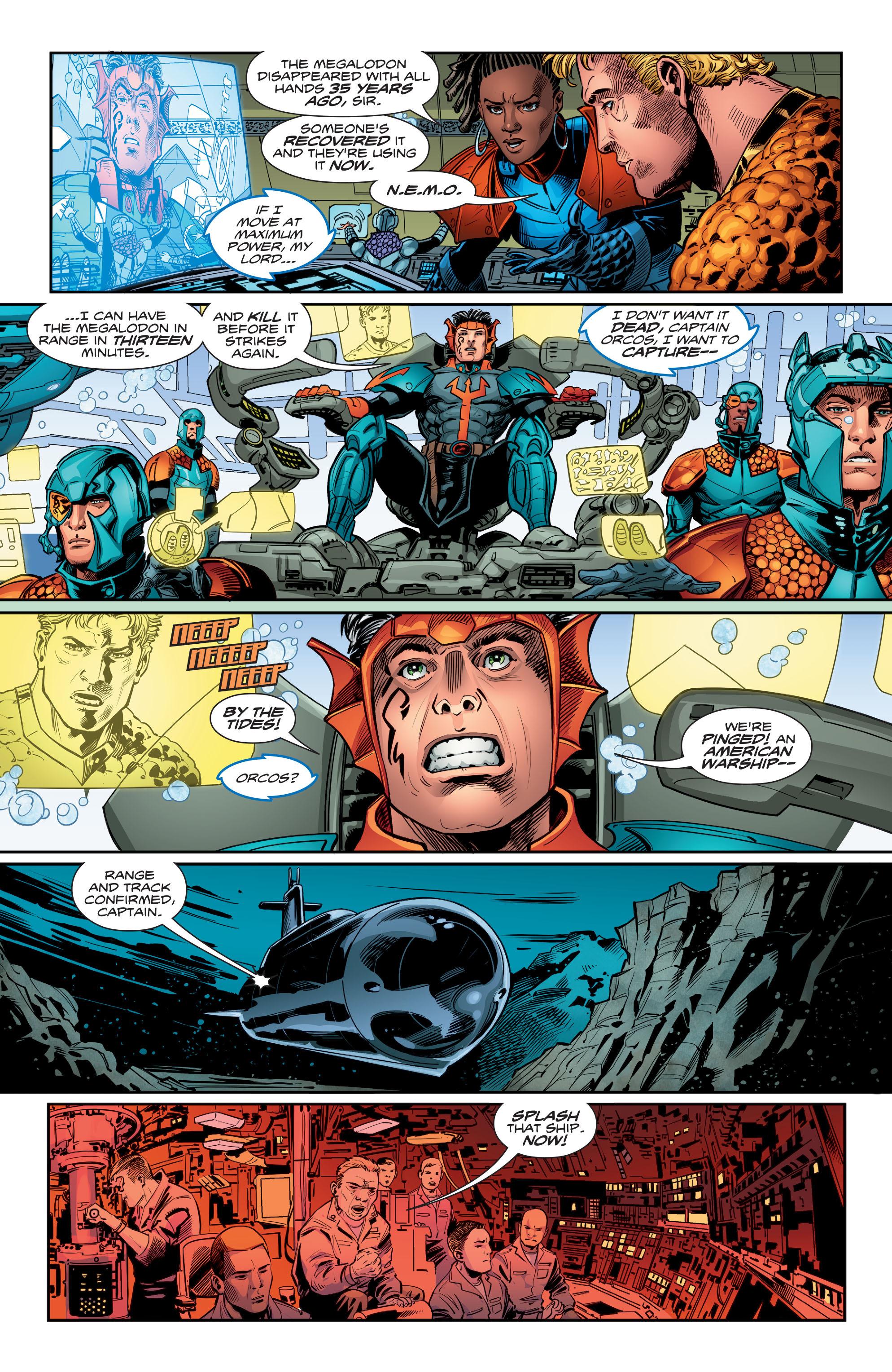 Read online Aquaman (2016) comic -  Issue #12 - 8
