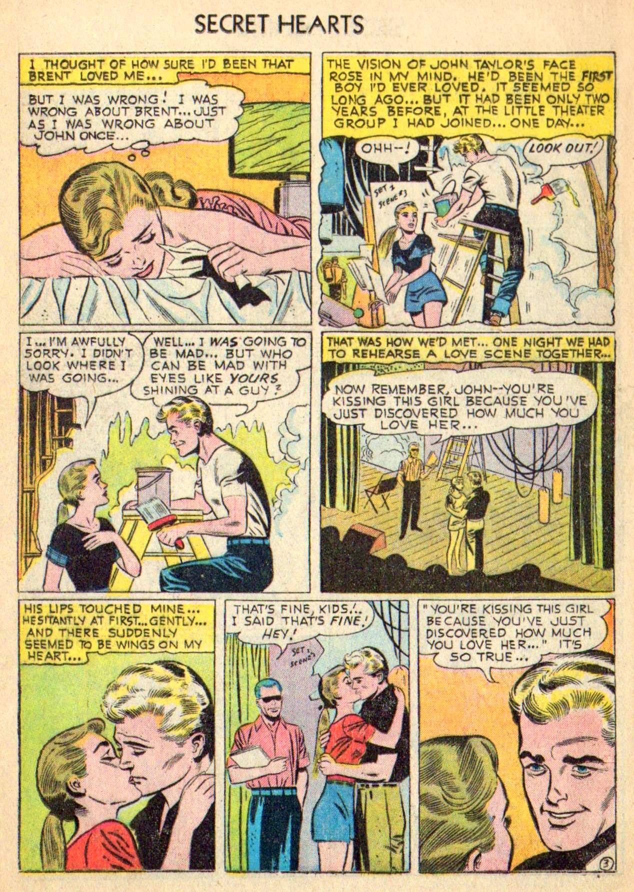 Read online Secret Hearts comic -  Issue #31 - 12