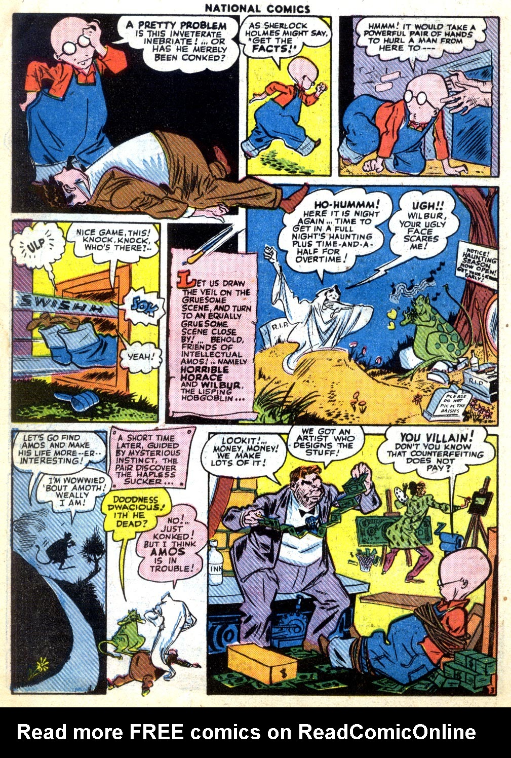 National Comics (1940) issue 47 - Page 32