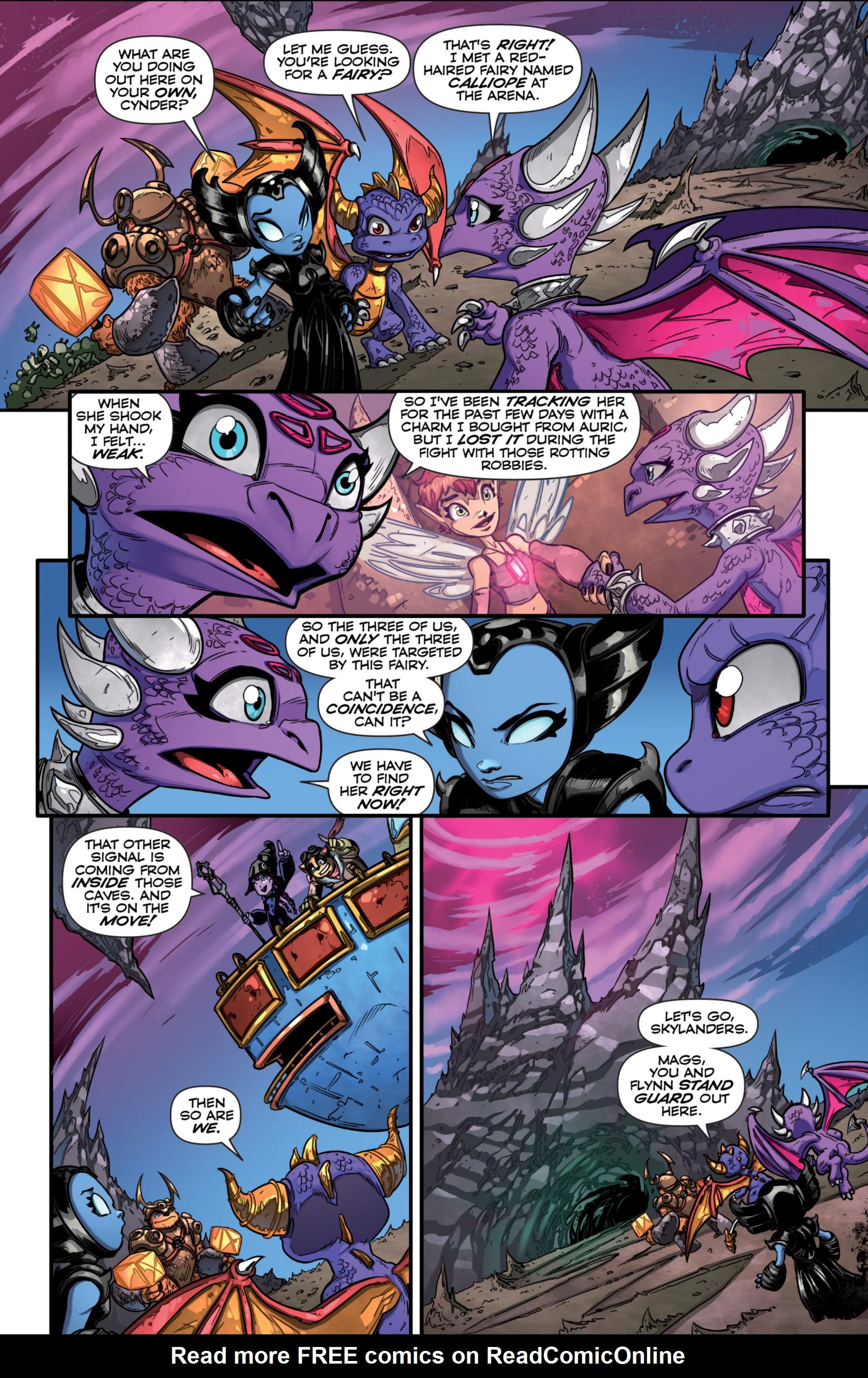 Read online Skylanders comic -  Issue #7 - 14