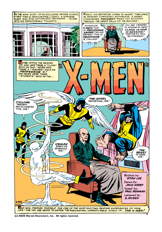 Uncanny X-Men (1963) -1 Page 2