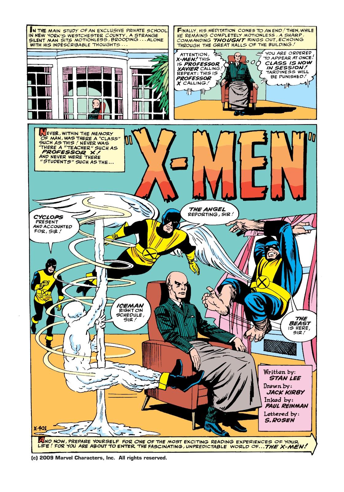 Uncanny X-Men (1963) issue 1 - Page 2