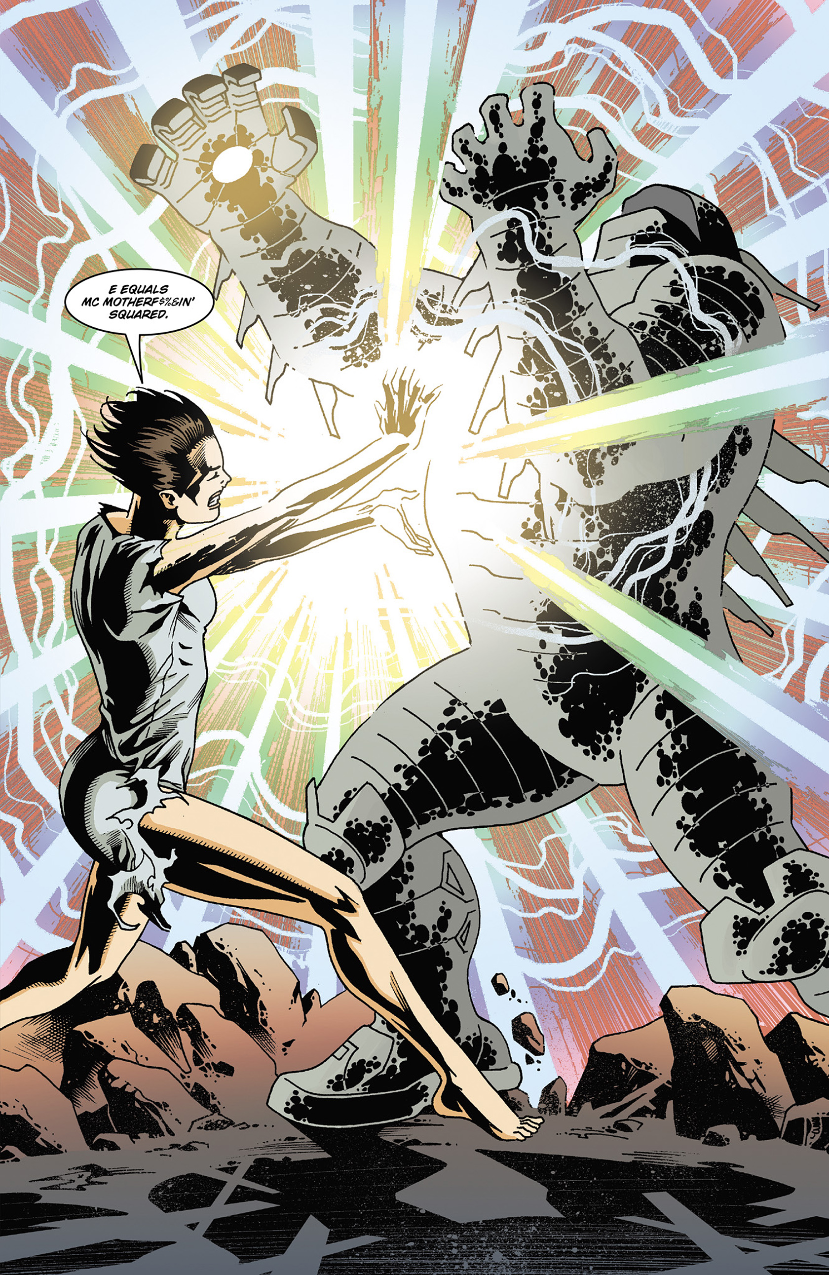 Read online Solar: Man of the Atom (2014) comic -  Issue #2 - 21