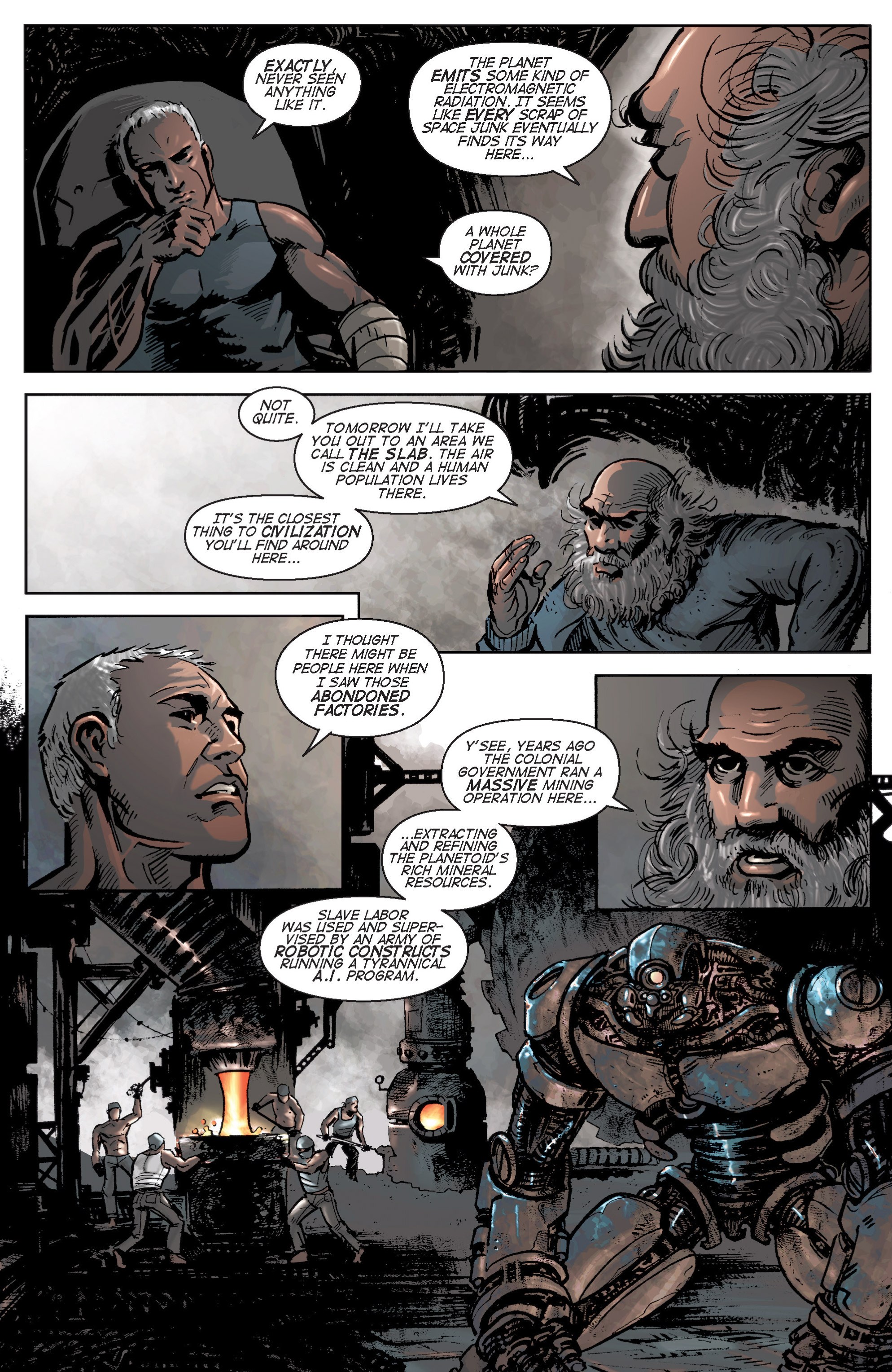 Read online Planetoid comic -  Issue # TPB - 33