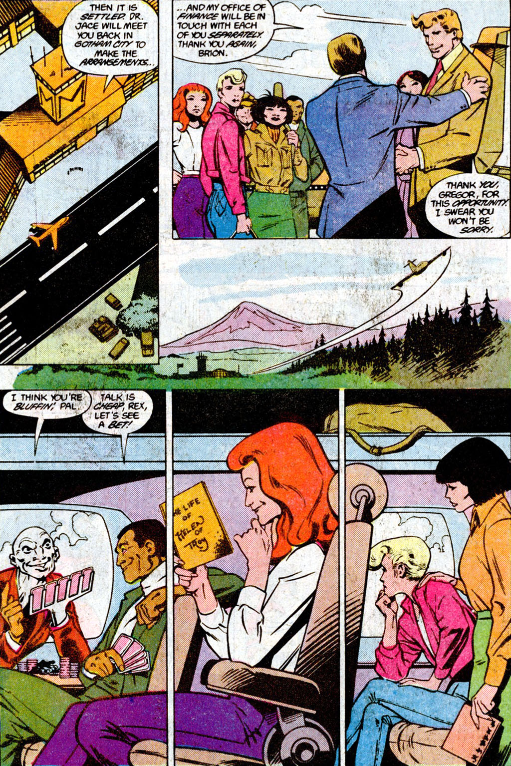 Read online Adventures of the Outsiders comic -  Issue #36 - 14