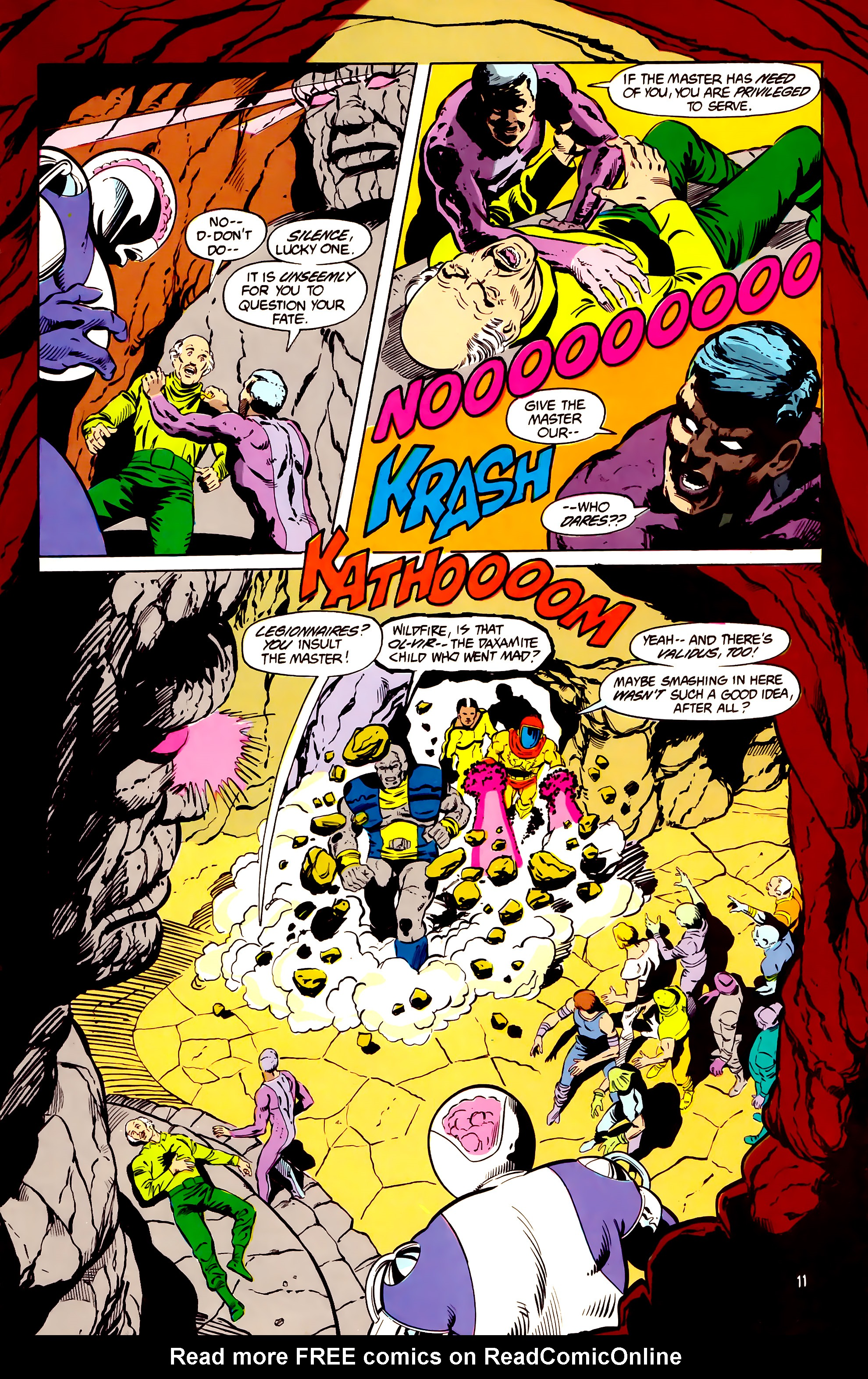 Legion of Super-Heroes (1984) _Annual_2 Page 12