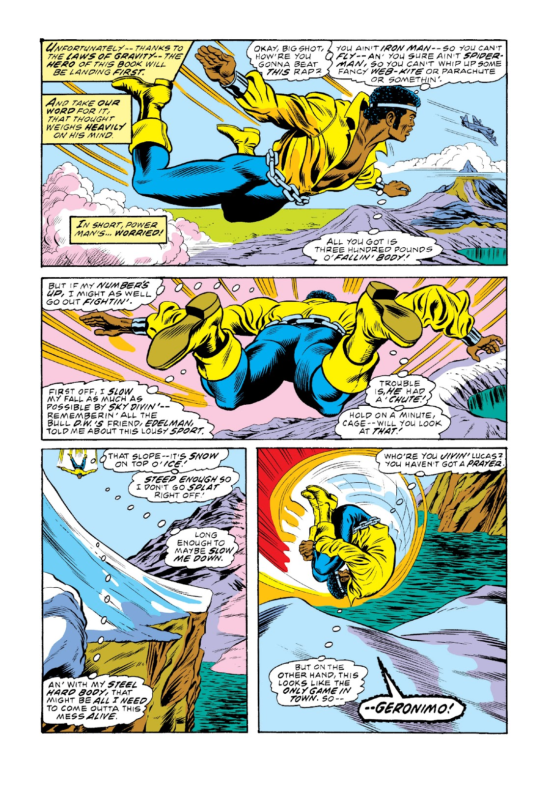 Read online Marvel Masterworks: Luke Cage, Power Man comic -  Issue # TPB 3 (Part 2) - 1