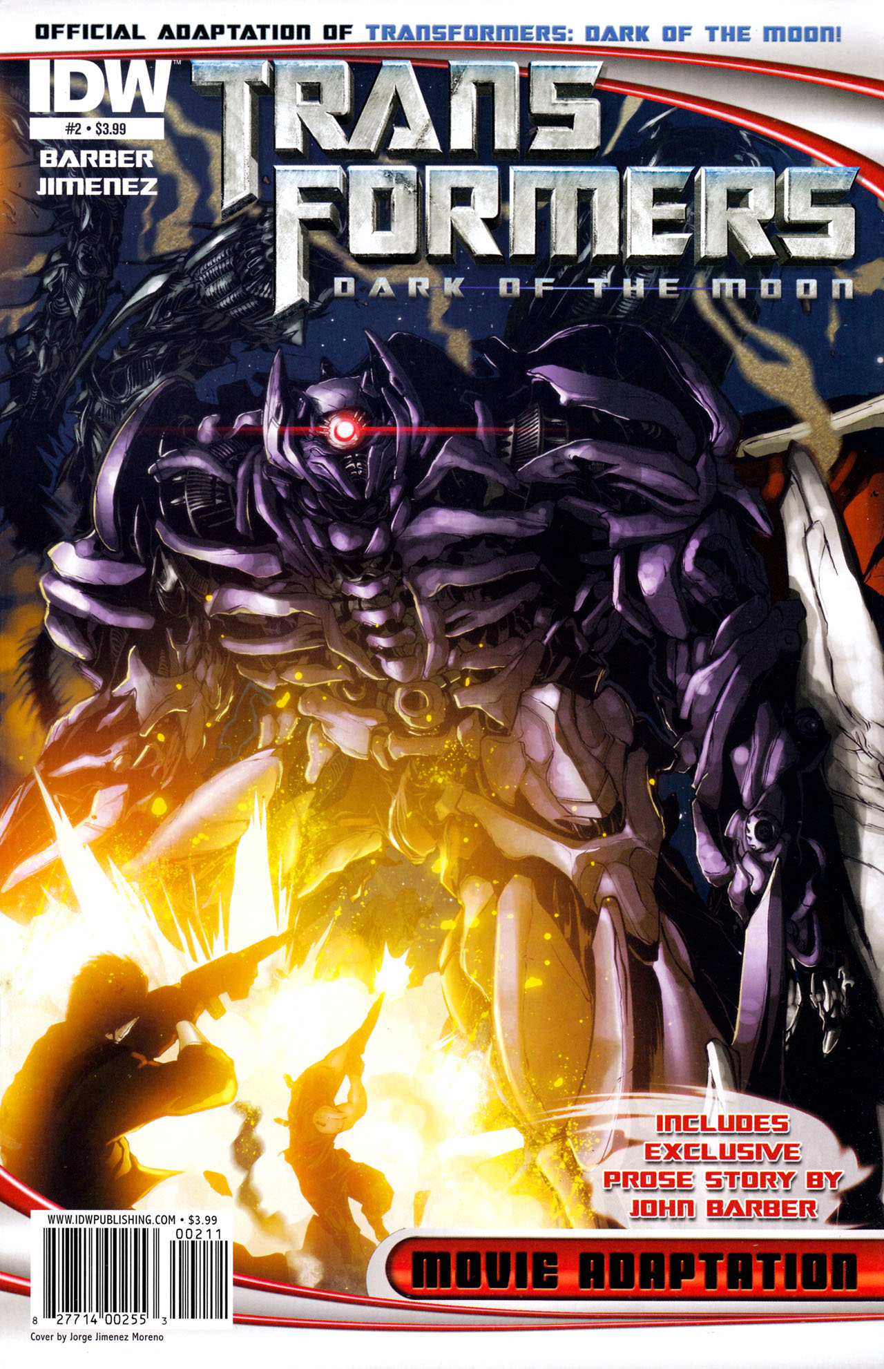 Read online Transformers: Dark of the Moon Movie Adaptation comic -  Issue #2 - 1