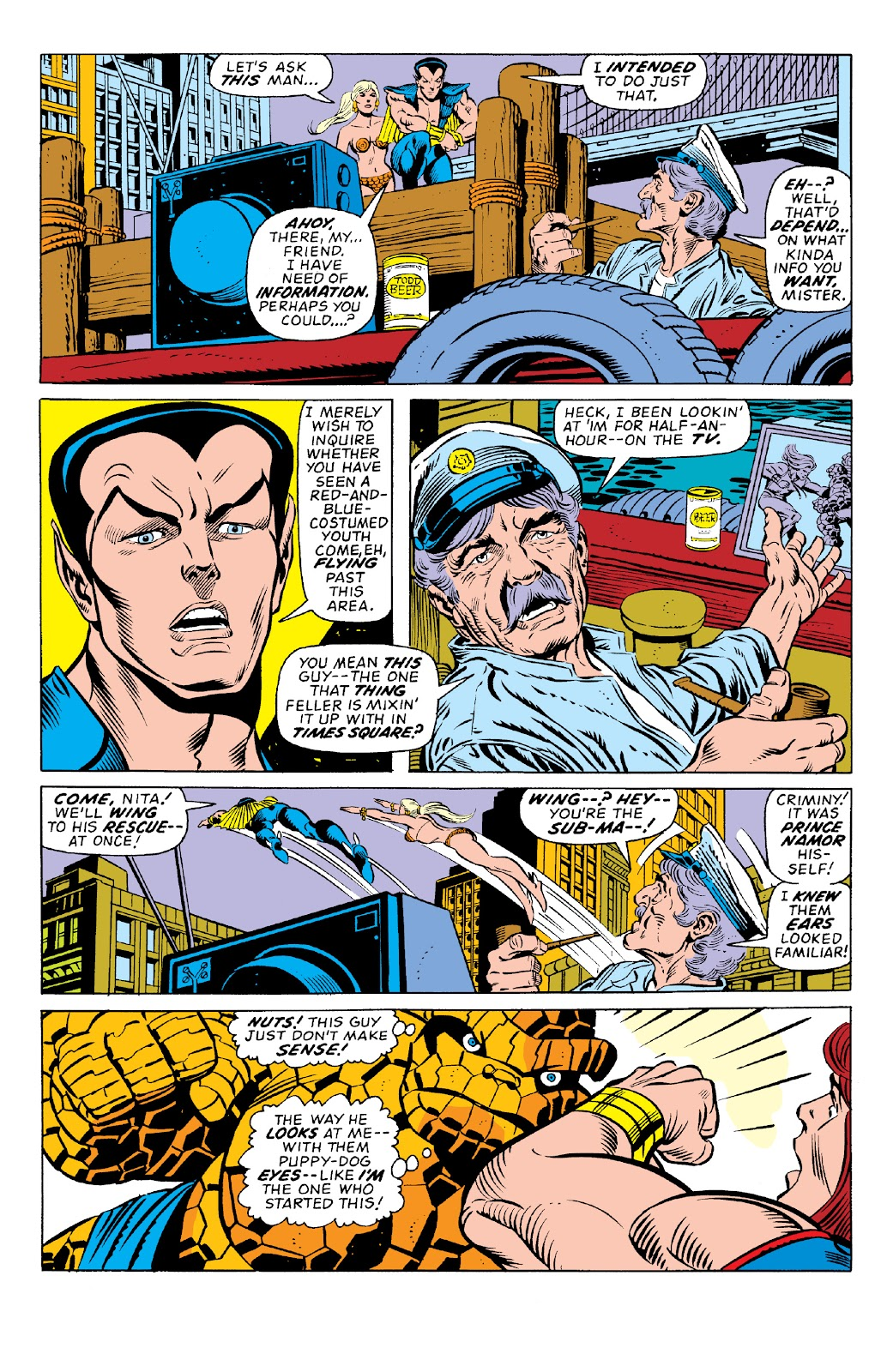 Read online Marvel Two-In-One Epic Collection: Cry Monster comic -  Issue # TPB (Part 1) - 77