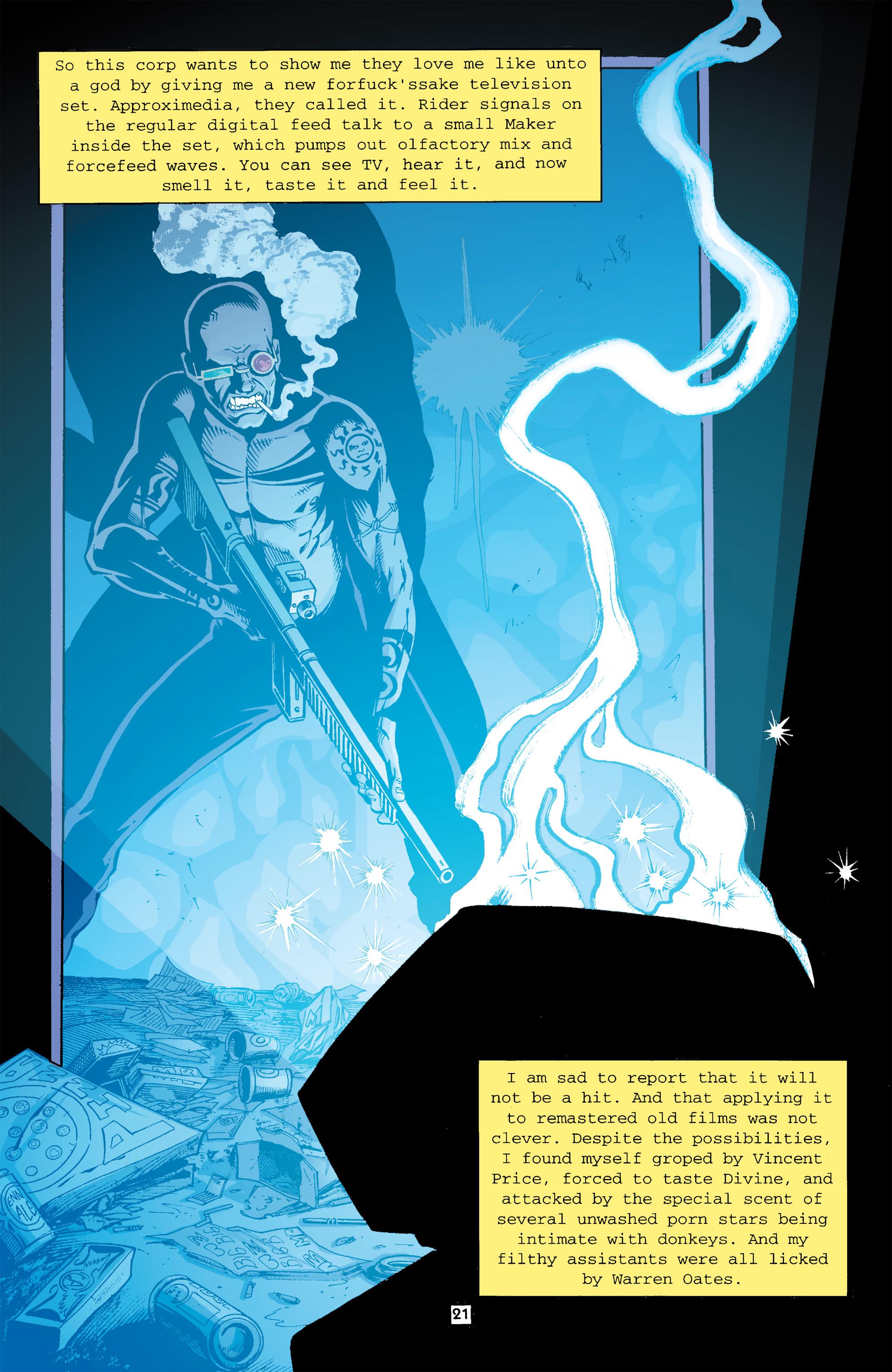 Read online Transmetropolitan comic -  Issue #26 - 22