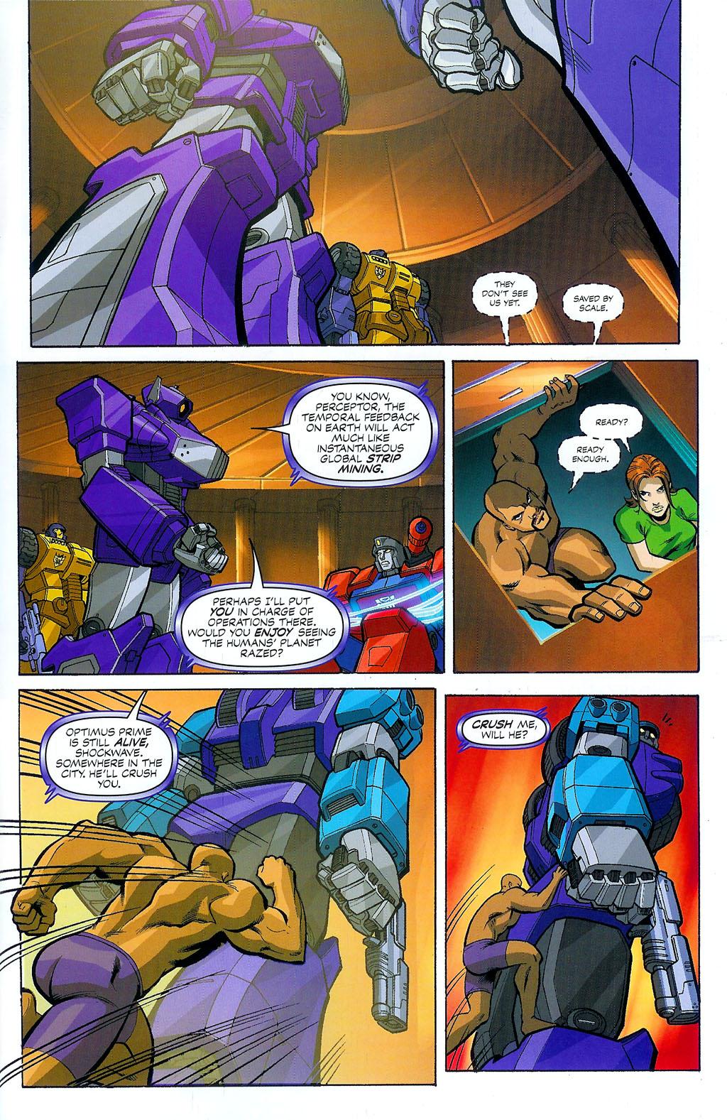 G.I. Joe vs. The Transformers II Issue #4 #5 - English 9