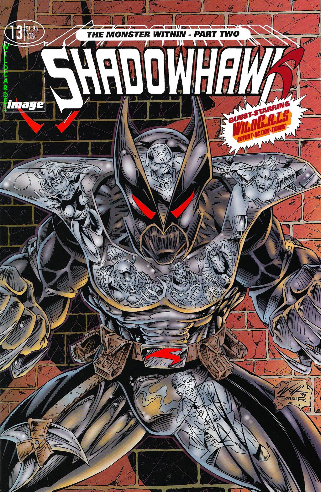 Read online ShadowHawk comic -  Issue #13 - 1