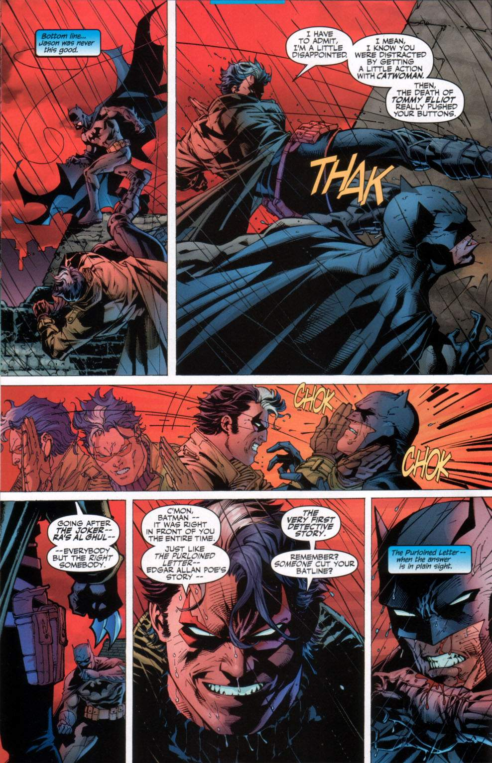 Read online Batman: Hush comic -  Issue #11 - 11