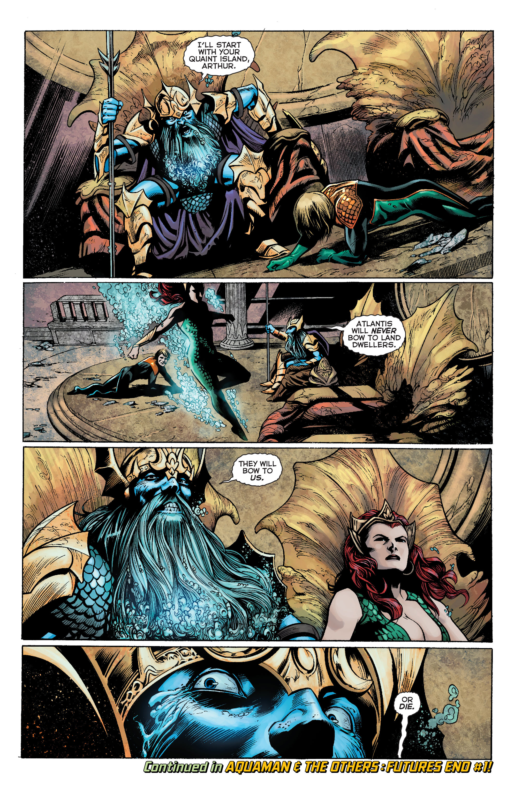 Read online Aquaman: Futures End comic -  Issue #Aquaman: Futures End Full - 21
