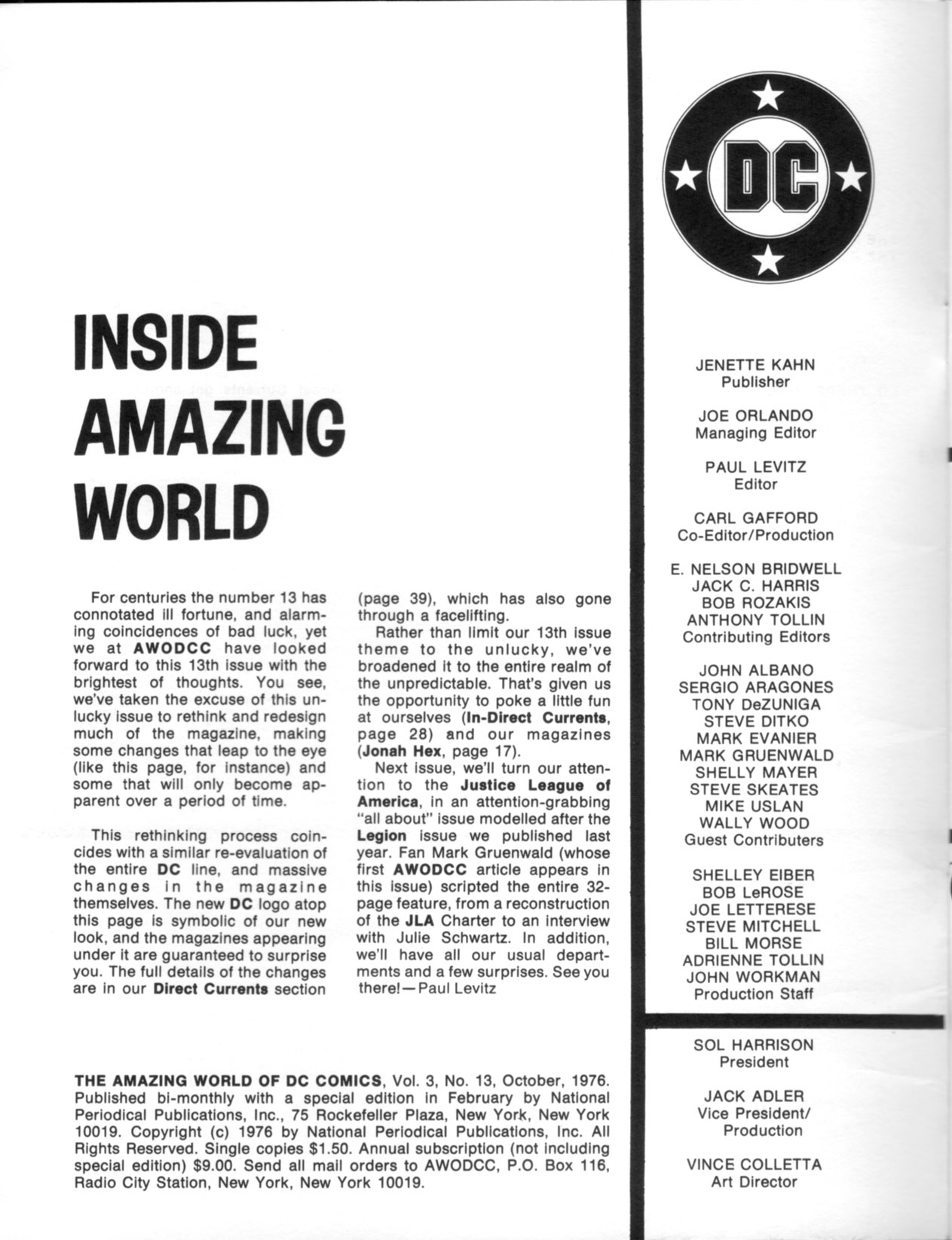 Read online Amazing World of DC Comics comic -  Issue #13 - 2