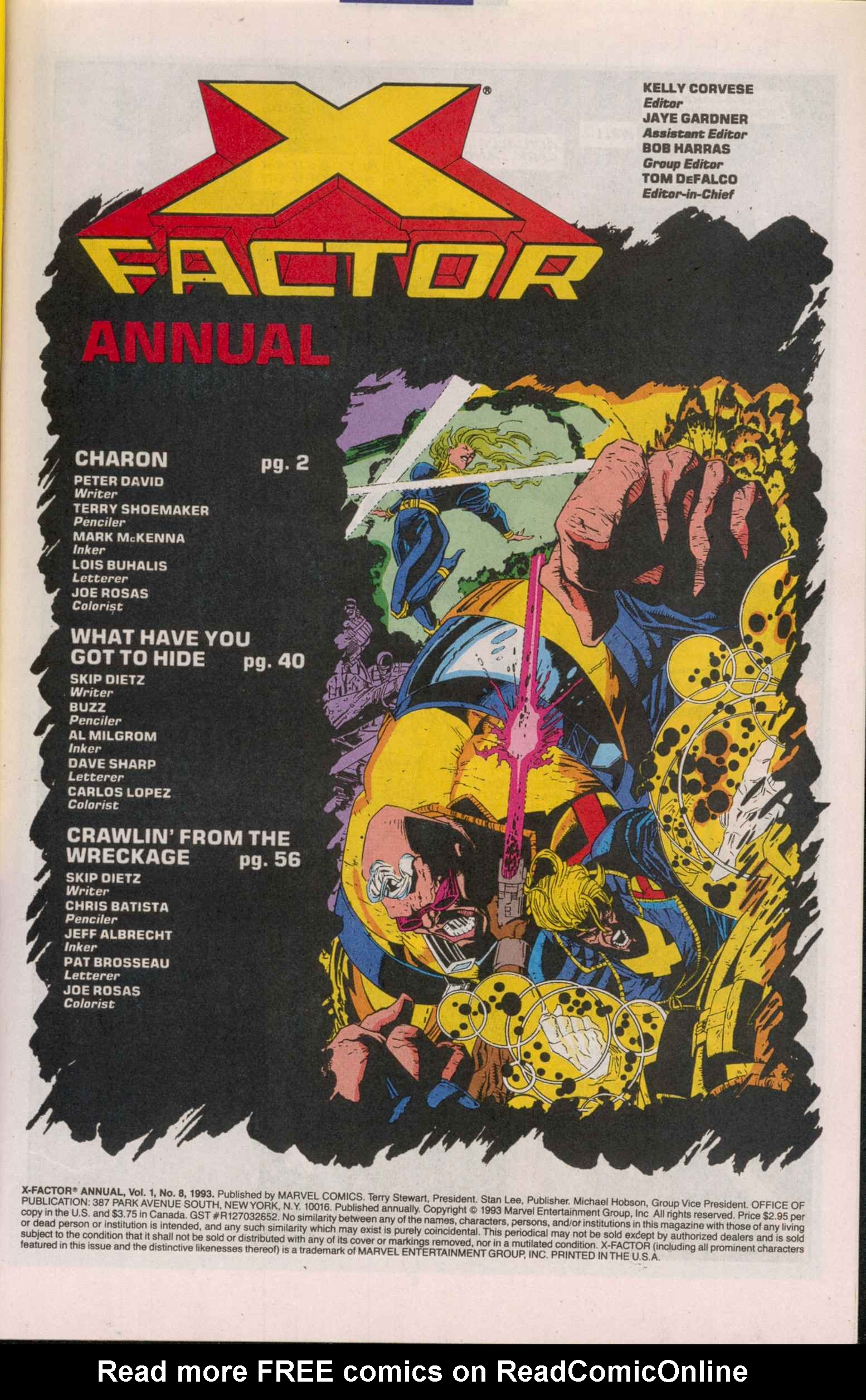 Read online X-Factor (1986) comic -  Issue # _ Annual 8 - 2