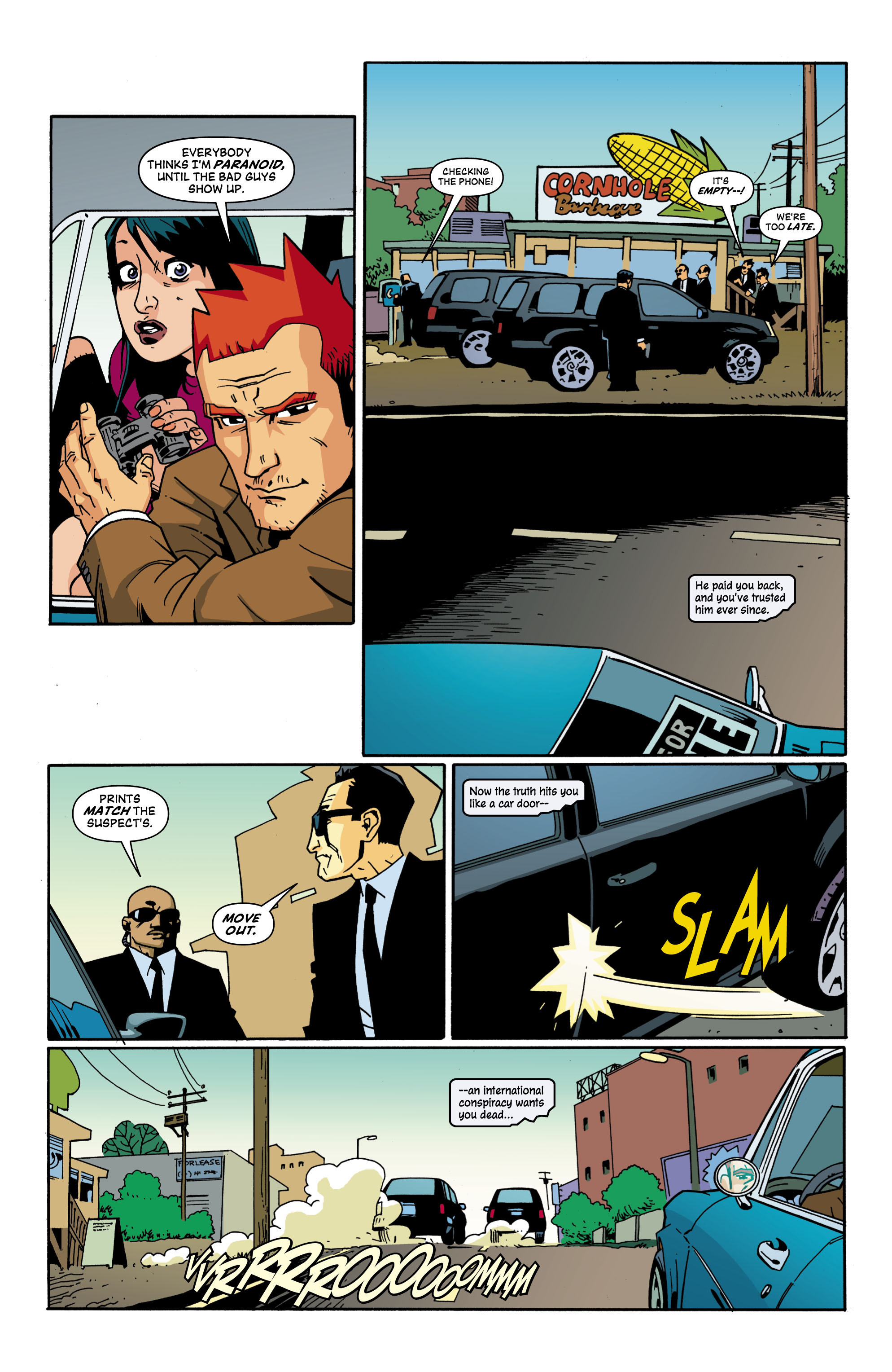 Read online Red Herring comic -  Issue #2 - 13