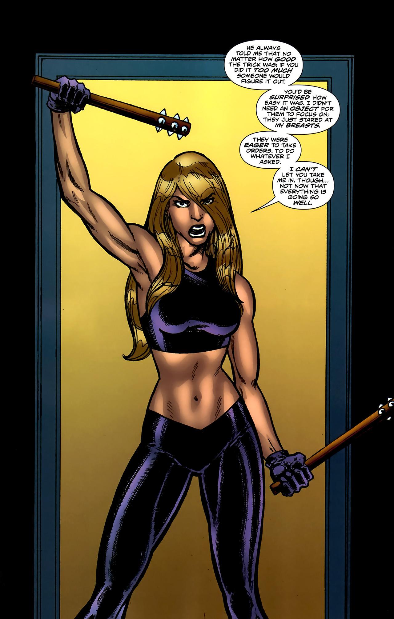 Read online ShadowHawk (2010) comic -  Issue #4 - 19