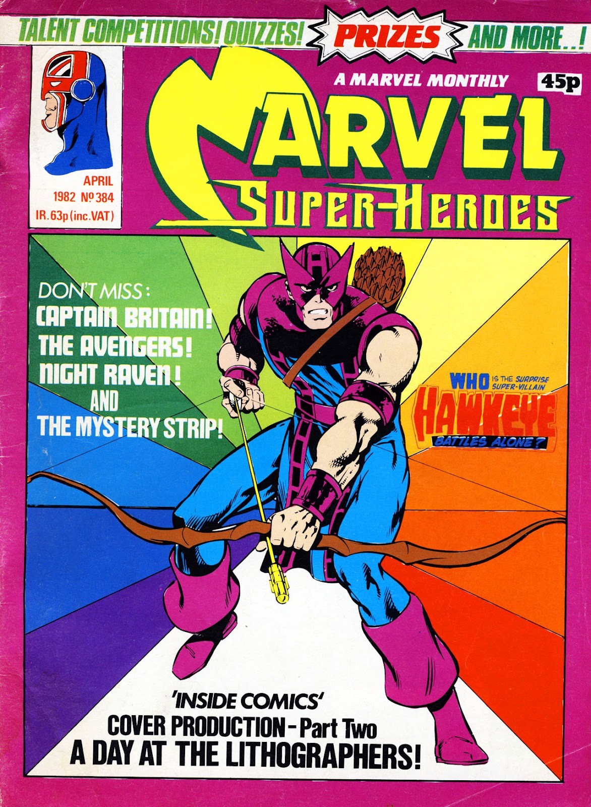 Marvel Super-Heroes (1979) issue 384 - Page 1