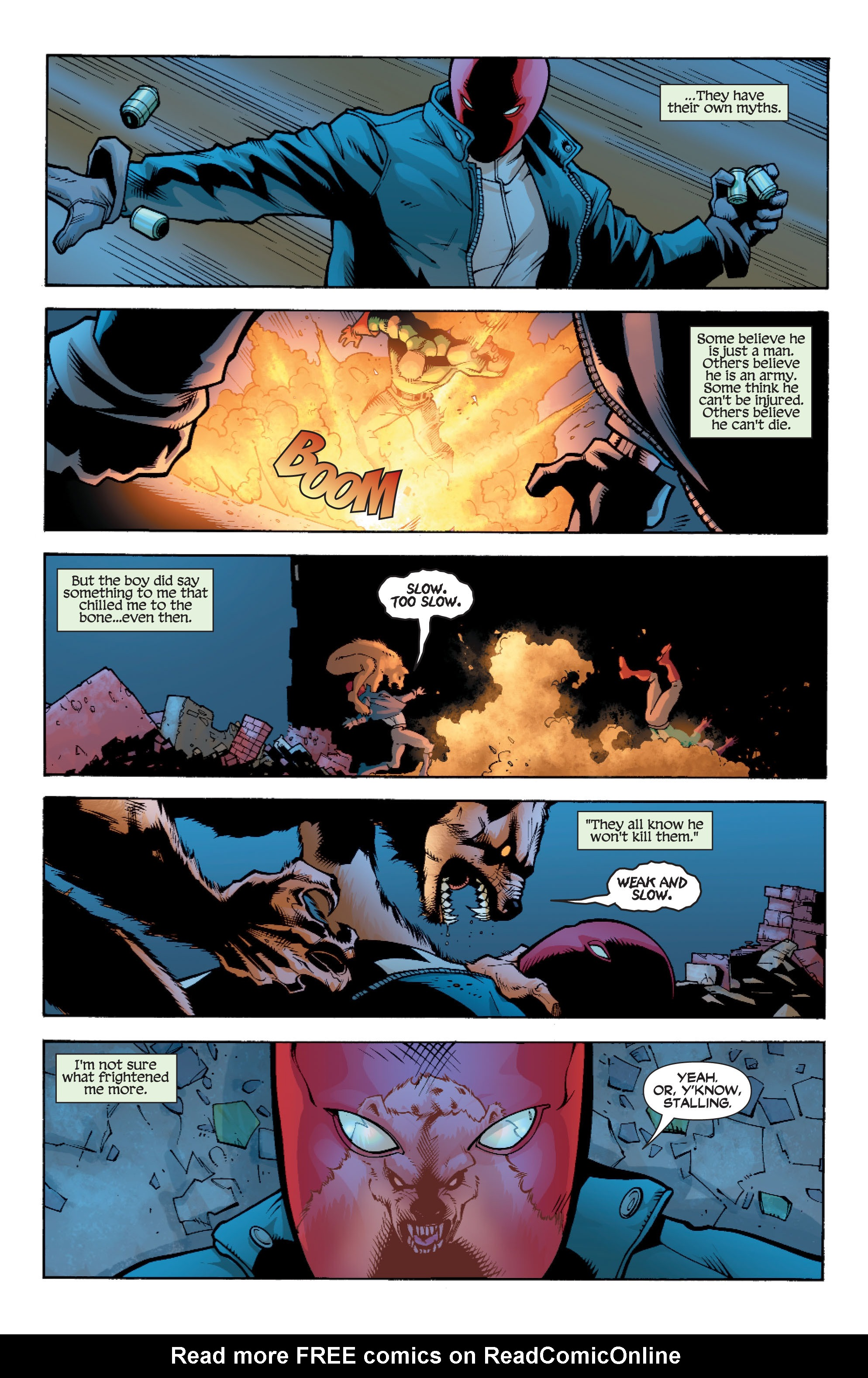 Read online Batman: Under The Red Hood comic -  Issue # Full - 233