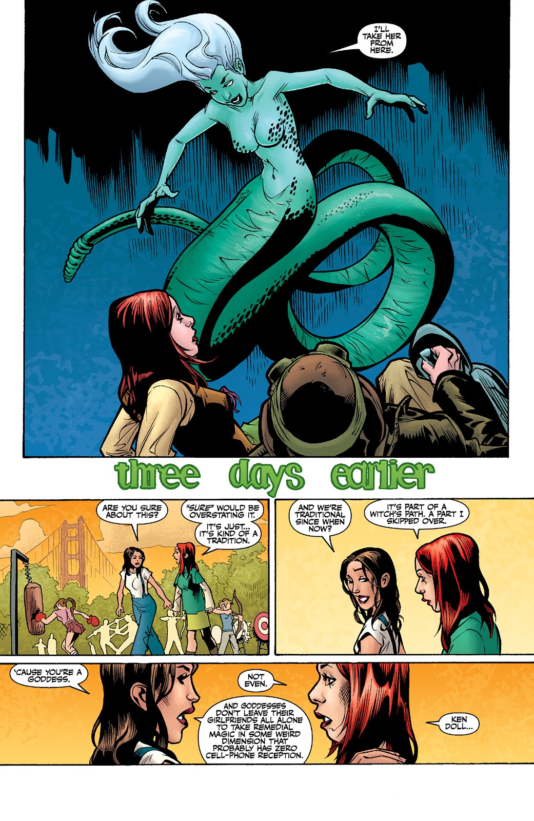 Read online Buffy the Vampire Slayer: Willow comic -  Issue # Full - 7