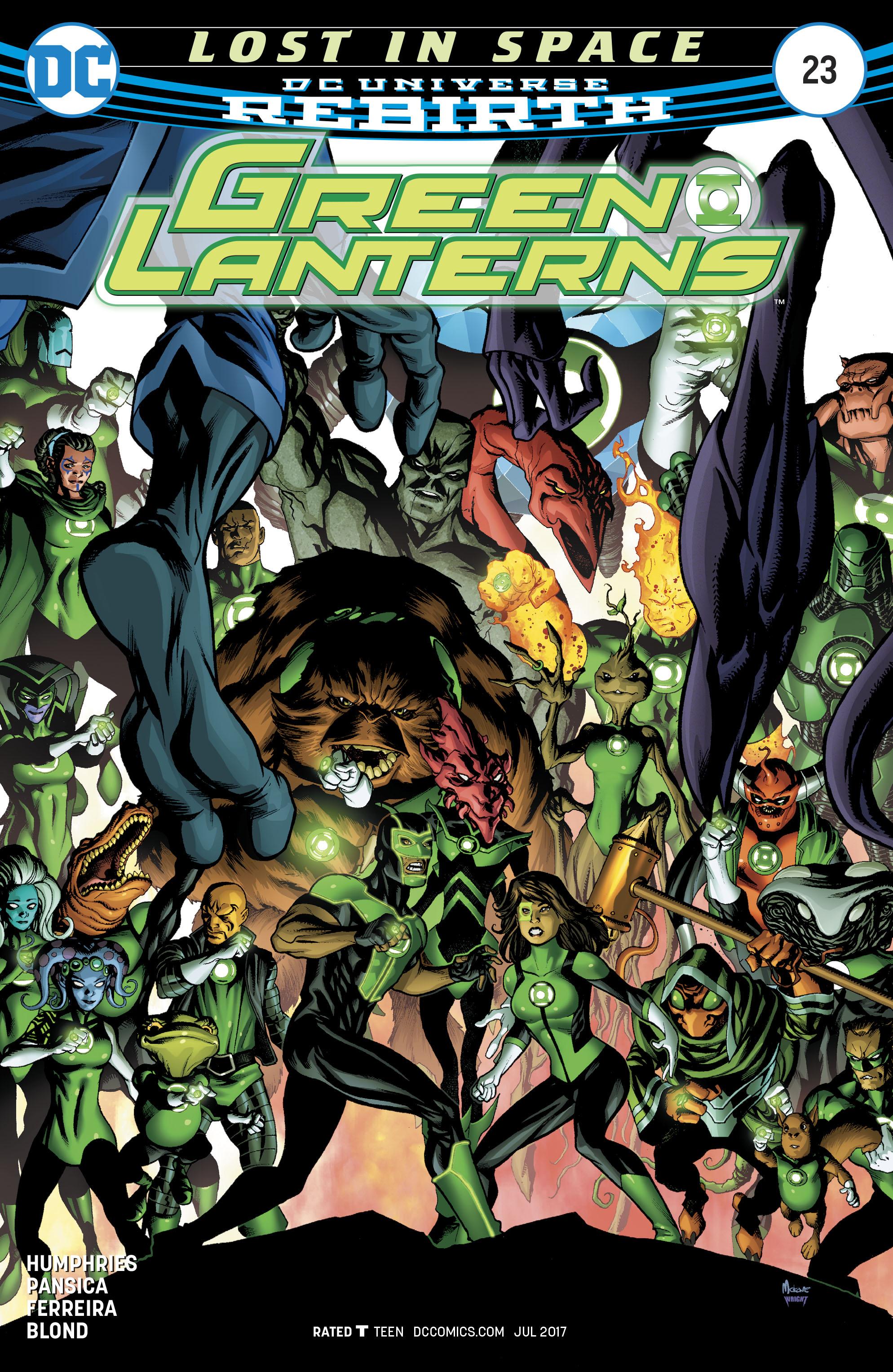 Read online Green Lanterns comic -  Issue #23 - 1
