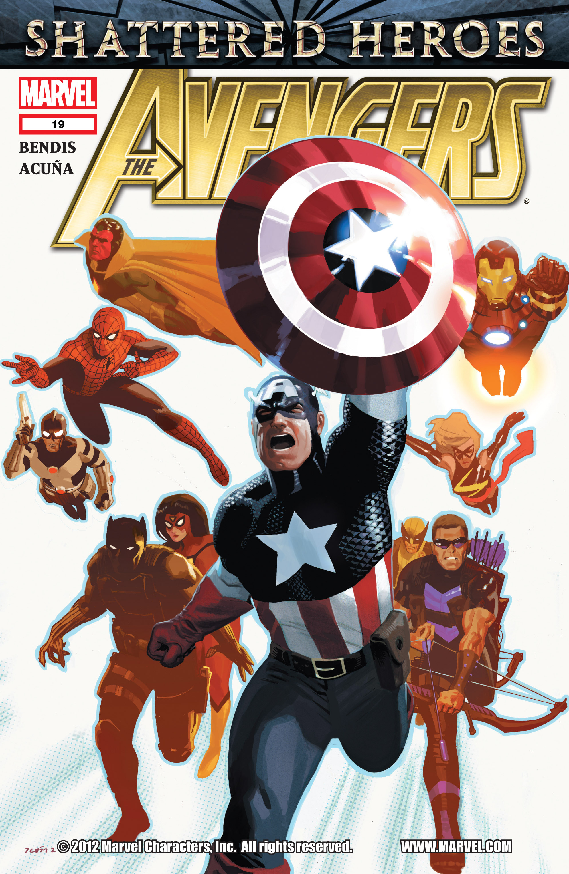 Read online Avengers (2010) comic -  Issue #19 - 1