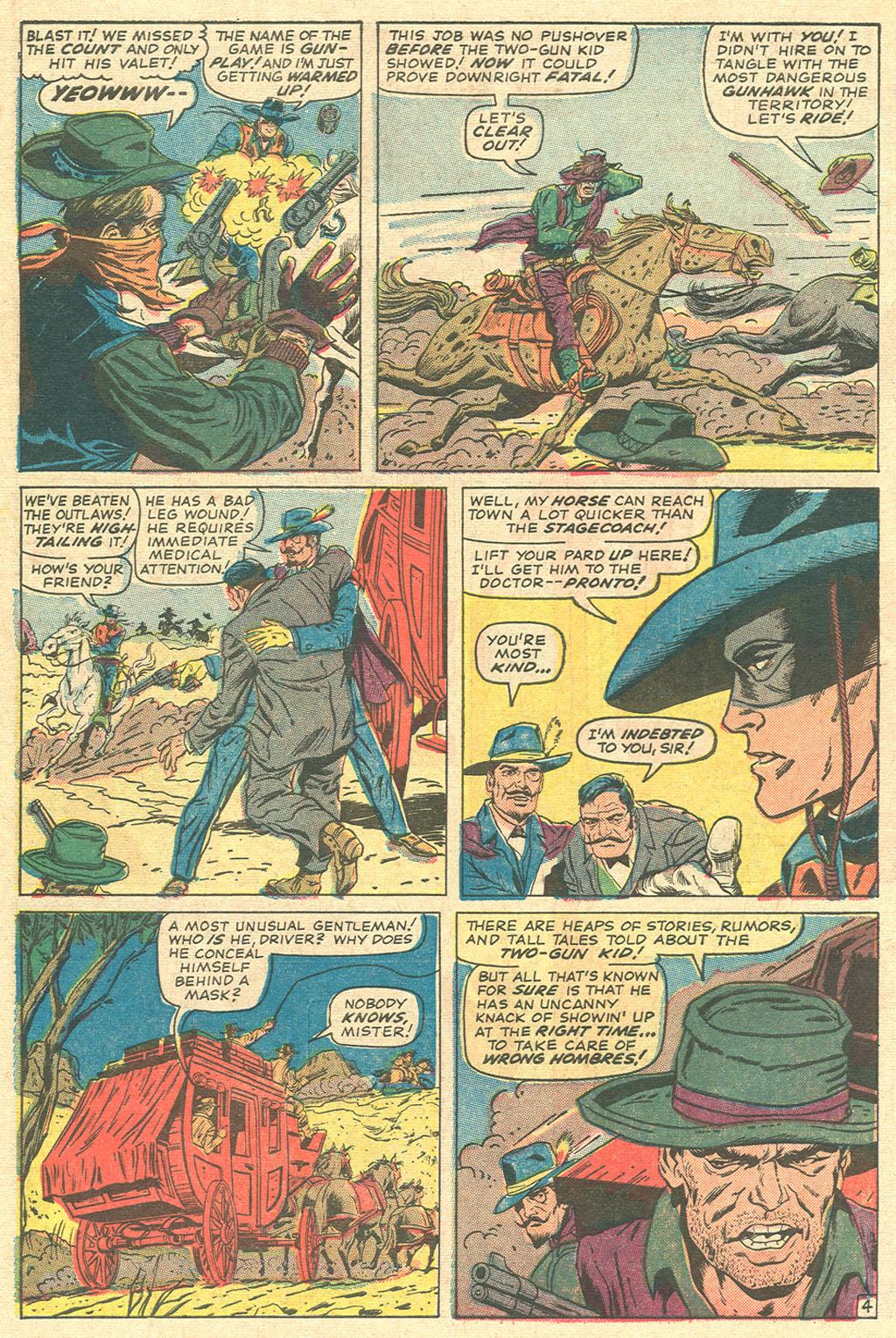 Read online Two-Gun Kid comic -  Issue #81 - 6