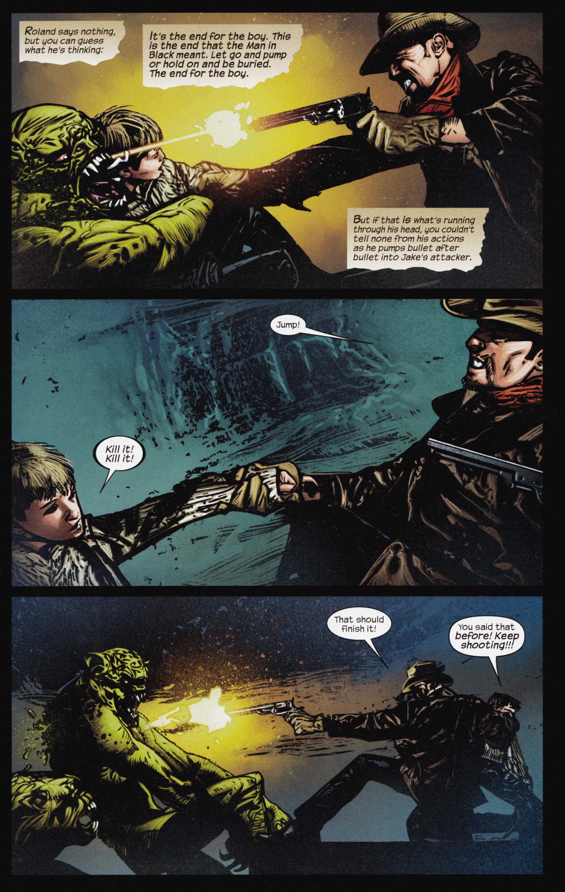 Read online Dark Tower: The Gunslinger - The Man in Black comic -  Issue #3 - 6